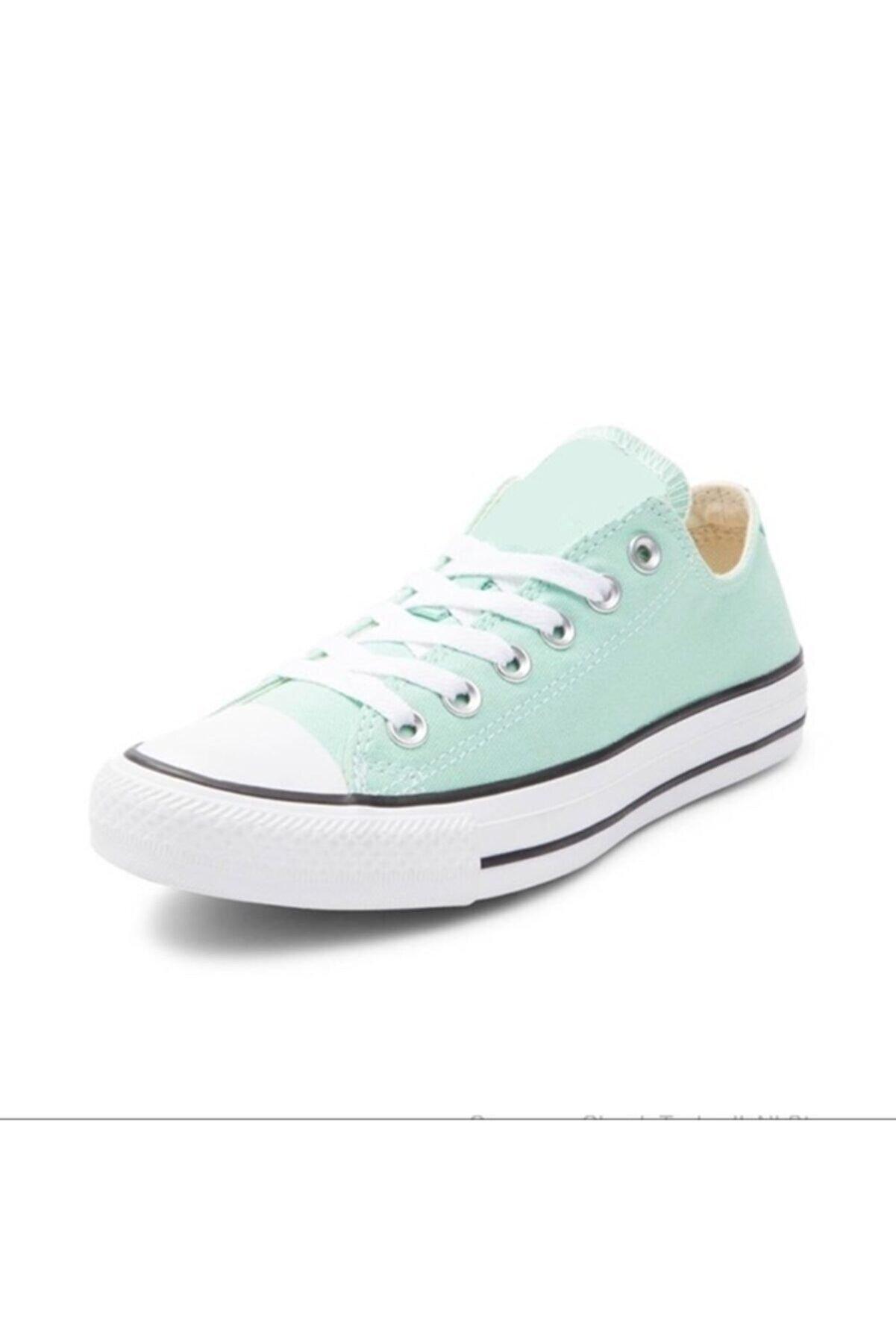 Odal Shoes Unisex Mint Yeşili Ortopedik Şeritli Sneakers