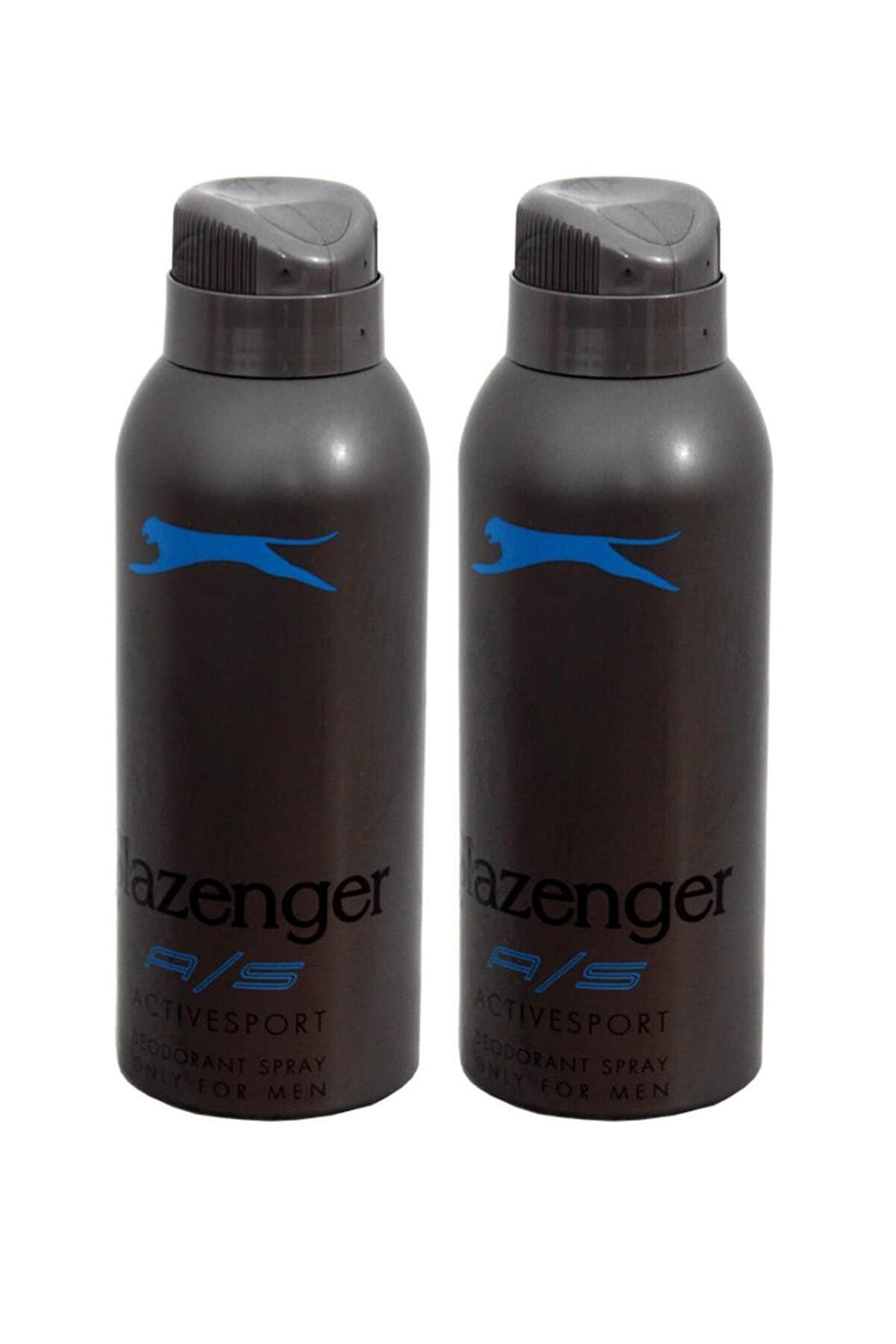 Slazenger Deodorant Active Sport 150ml(MAVİ) X 2 Adet