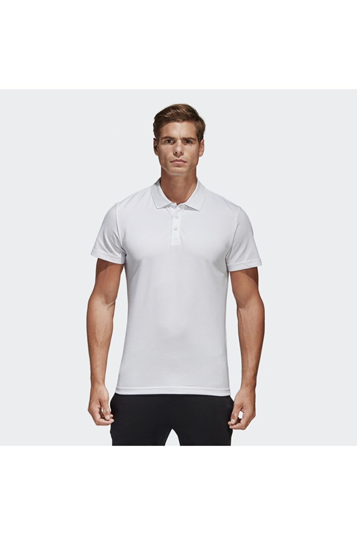 adidas ESS BASE POLO Beyaz Erkek T-Shirt 101015821