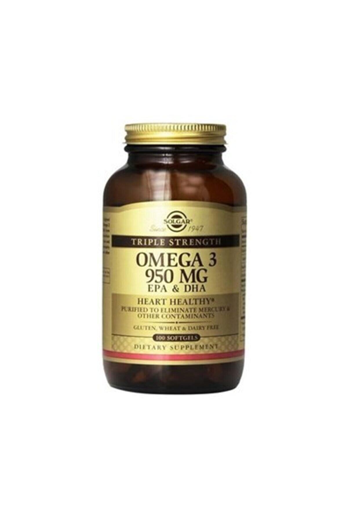 Solgar Omega-3 950 Mg - 100 Kapsül