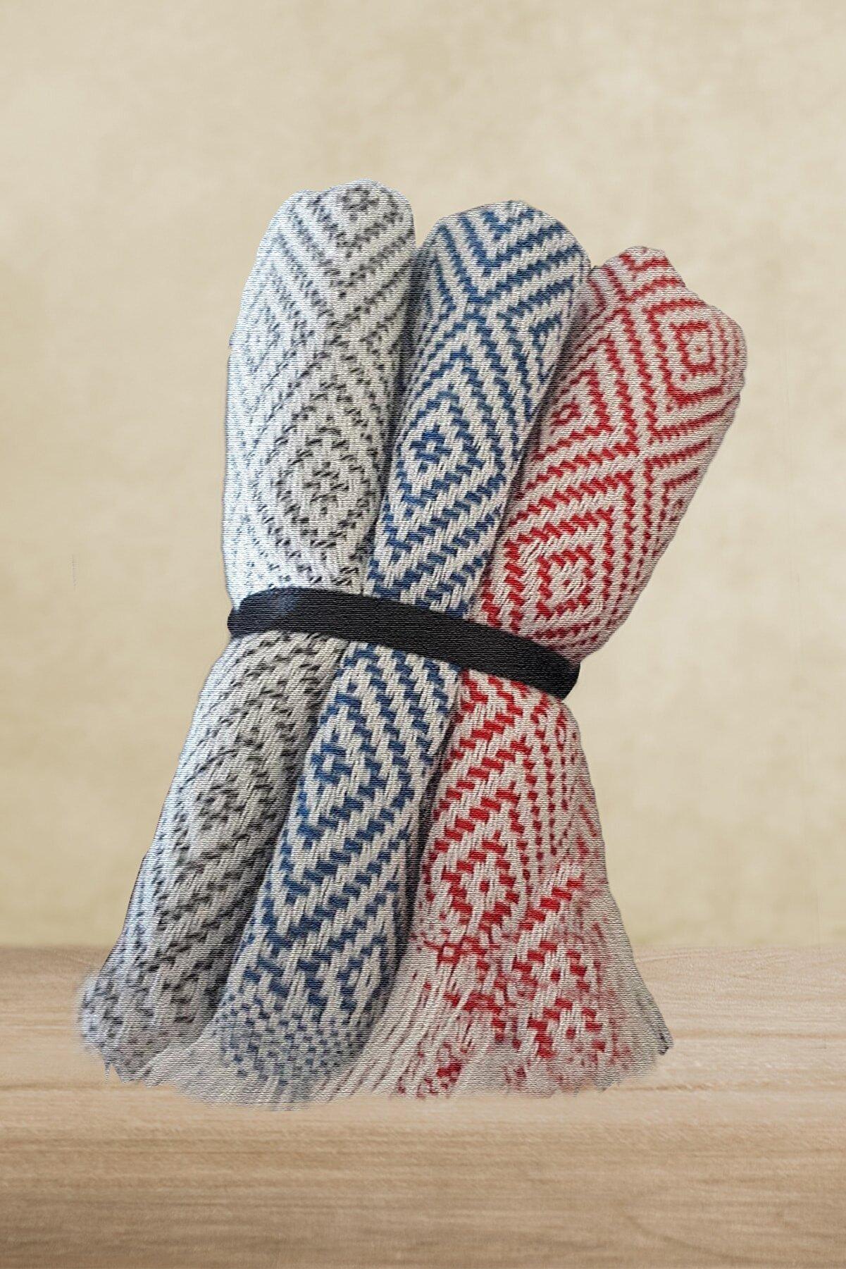 Çt Çeyizci Tekstil Mutfak Havlusu  Elbezi Peçetesi 30x50cm 3lü