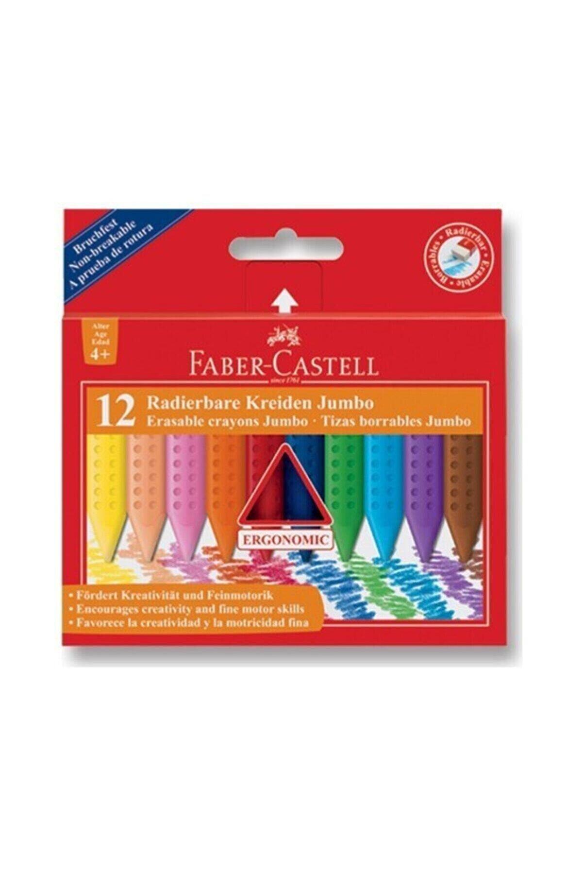 Faber Castell Faber-castell Grip Jumbo Mum Boya 12 Renk