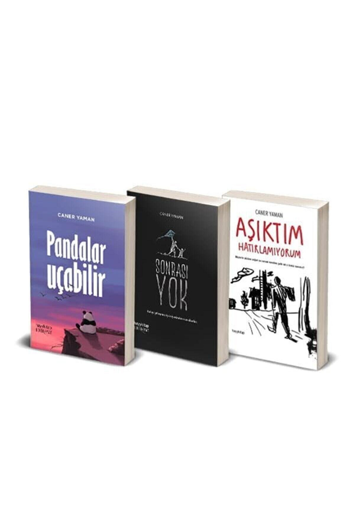 Hayykitap Caner Yaman Seti - 3 Kitap / Pandalar Uçabilir - Aşıktım Hatırlamıyorum - Sonrası Yok
