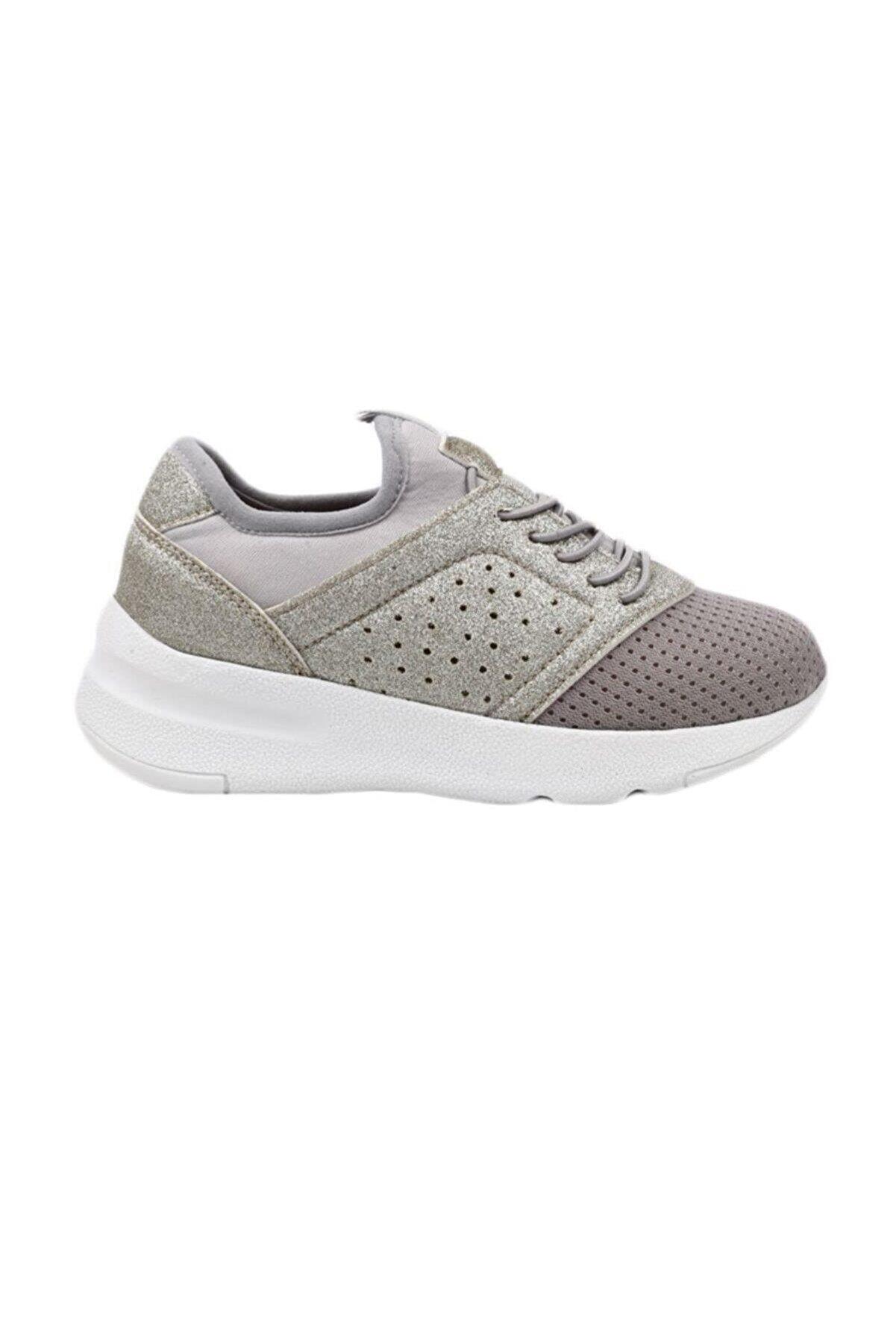 Vicco Gri Kız Spor Ayakkabı