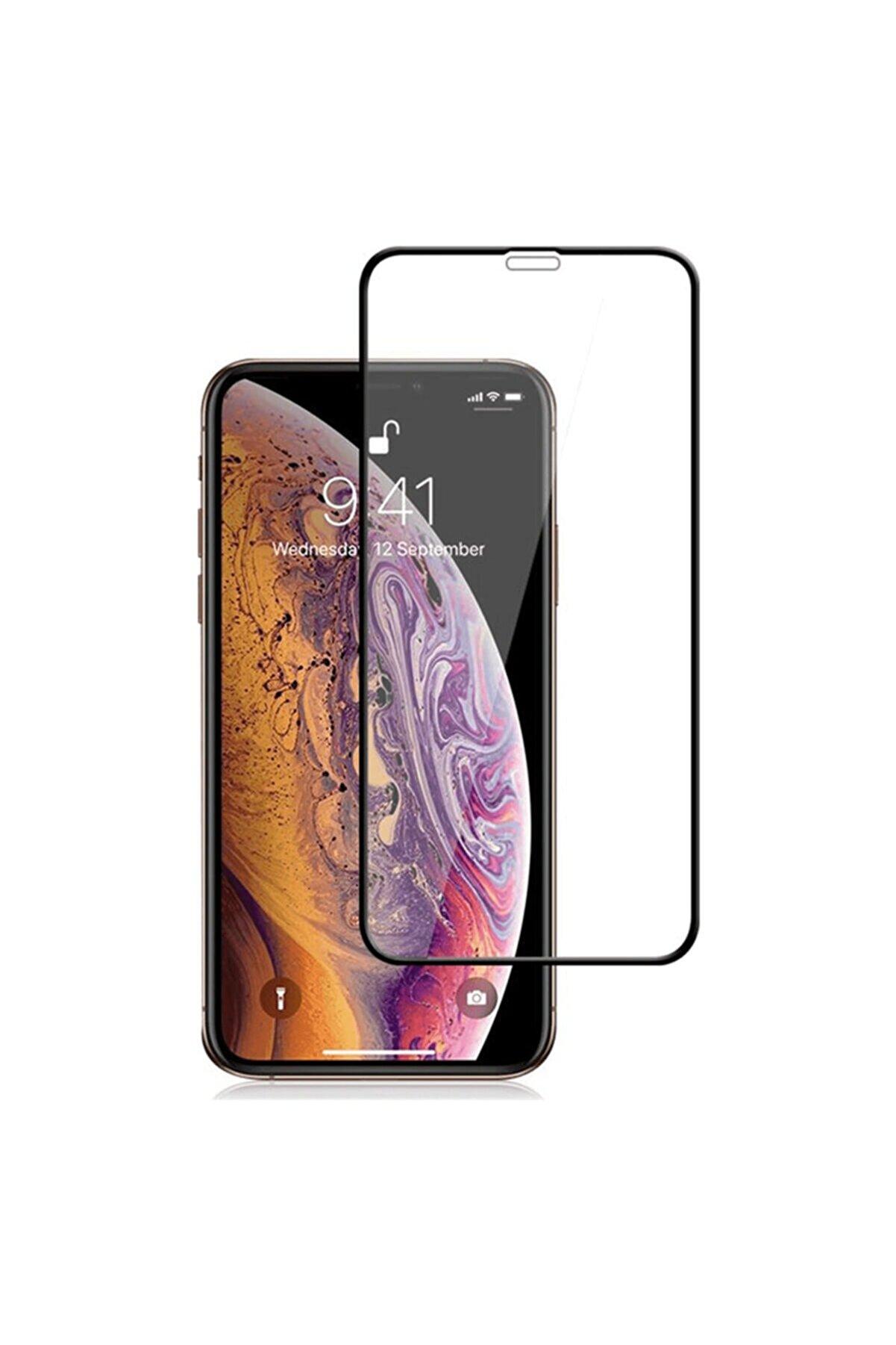 Spada Iphone 12 Pro Max Için Comfort Tam Kaplayan Temperli Ekran Koruma Camı