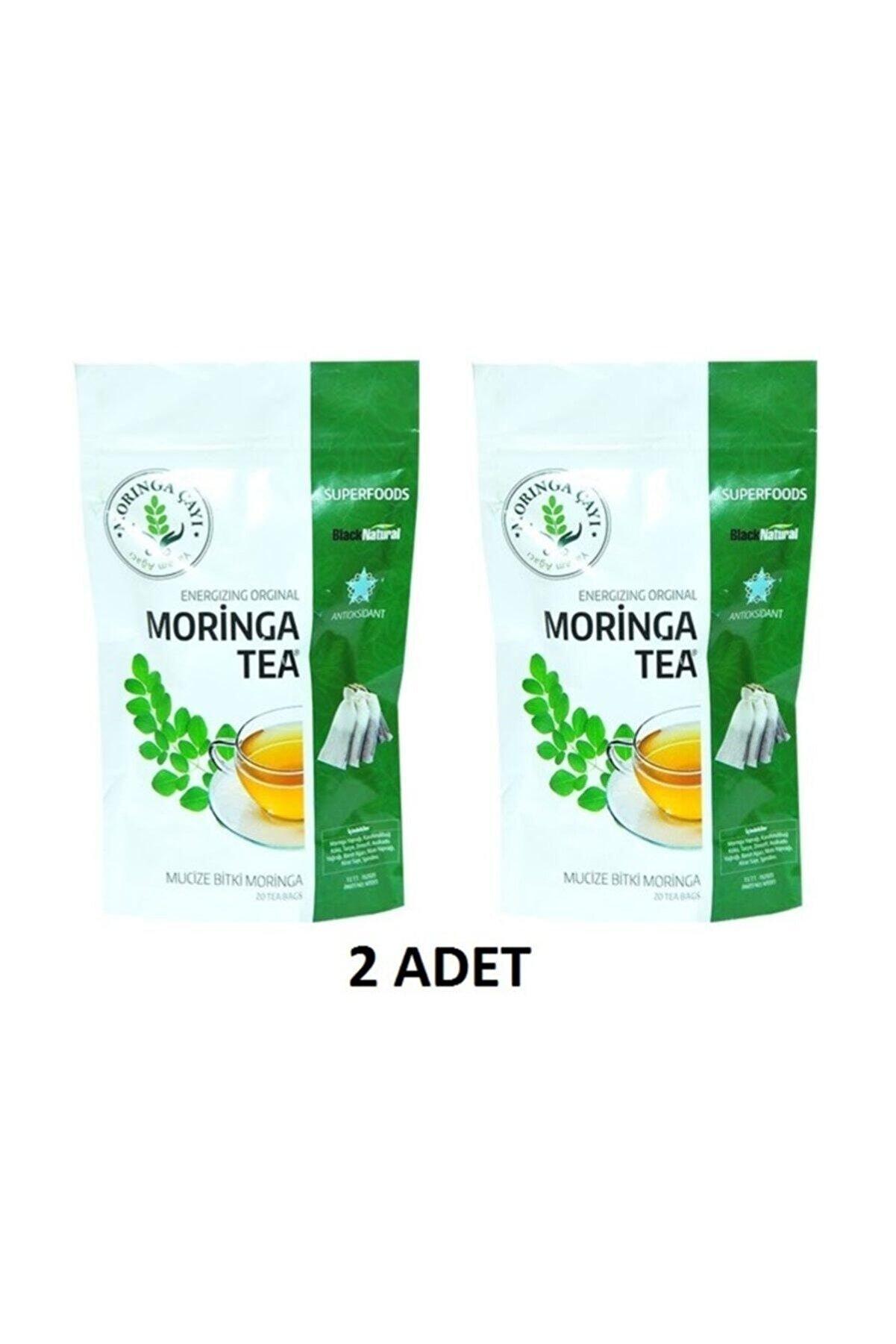 Vilmorin 2 Adet Moringalı Çay (Moringa Çayı) 40 Süzen Poşet