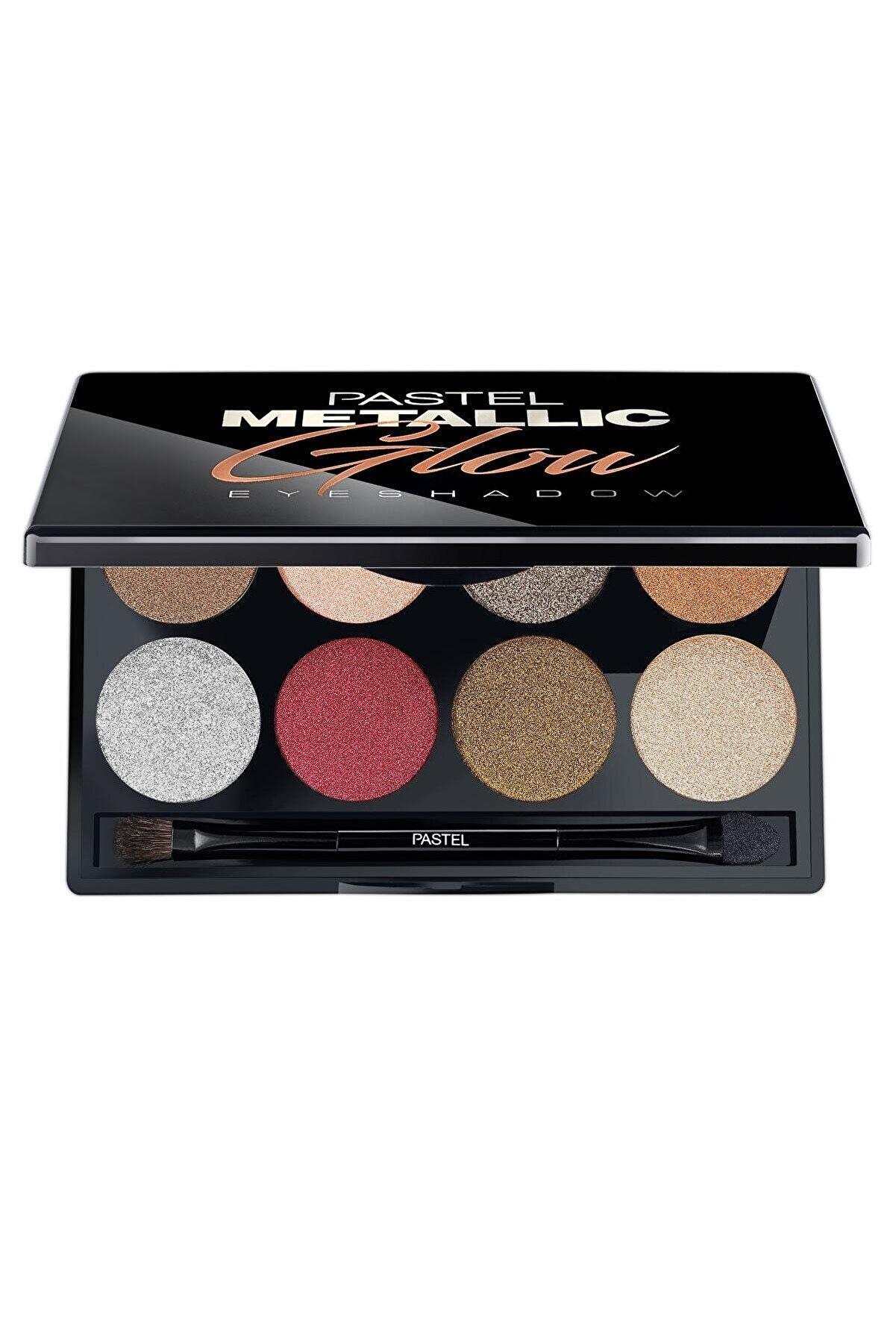 Pastel Göz Farı Paleti - Metallic Glow Eyeshadow