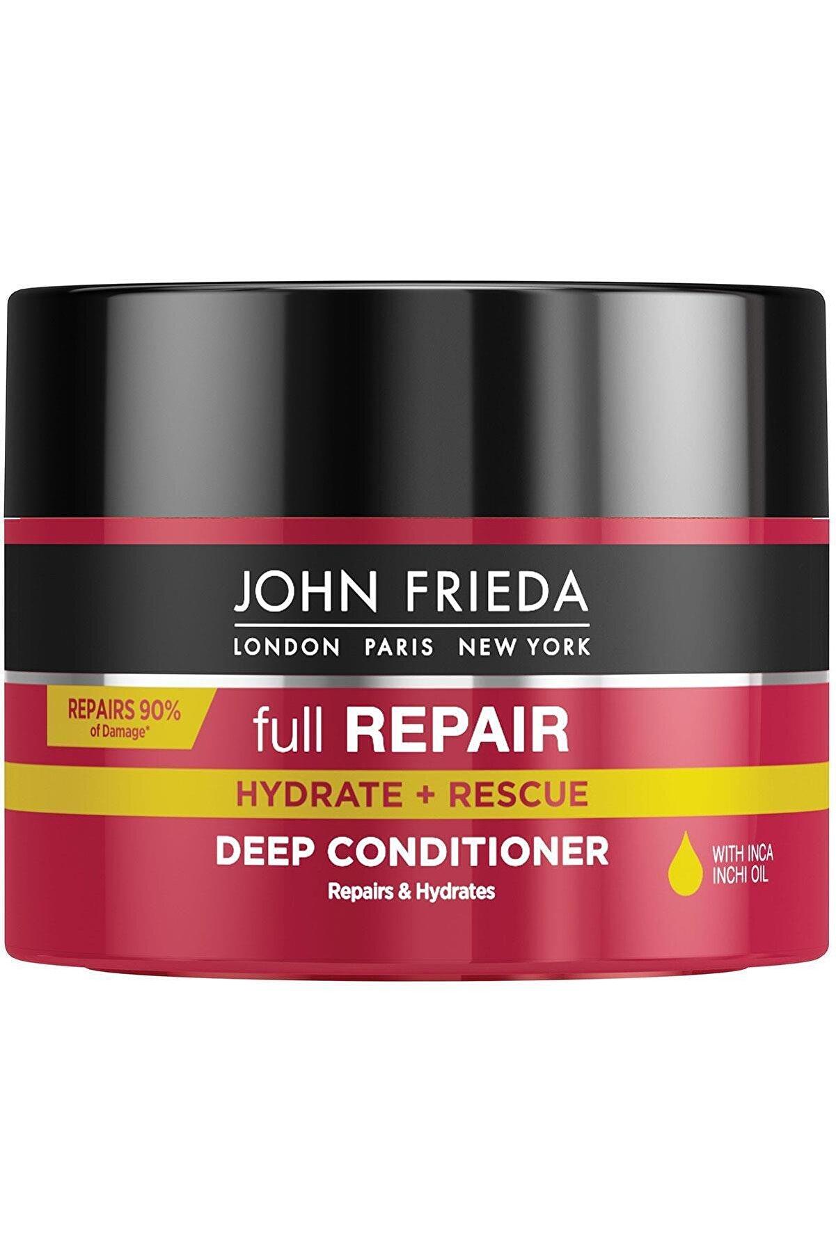 John Frieda Hassas Ve Hasar Görmüş Saçlar Için Onarıcı Saç Bakım Maskesi 250 ml