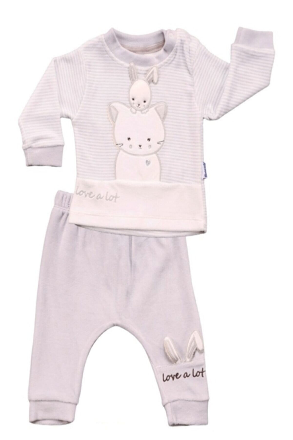 Miniworld Kız Bebek Gri Takım