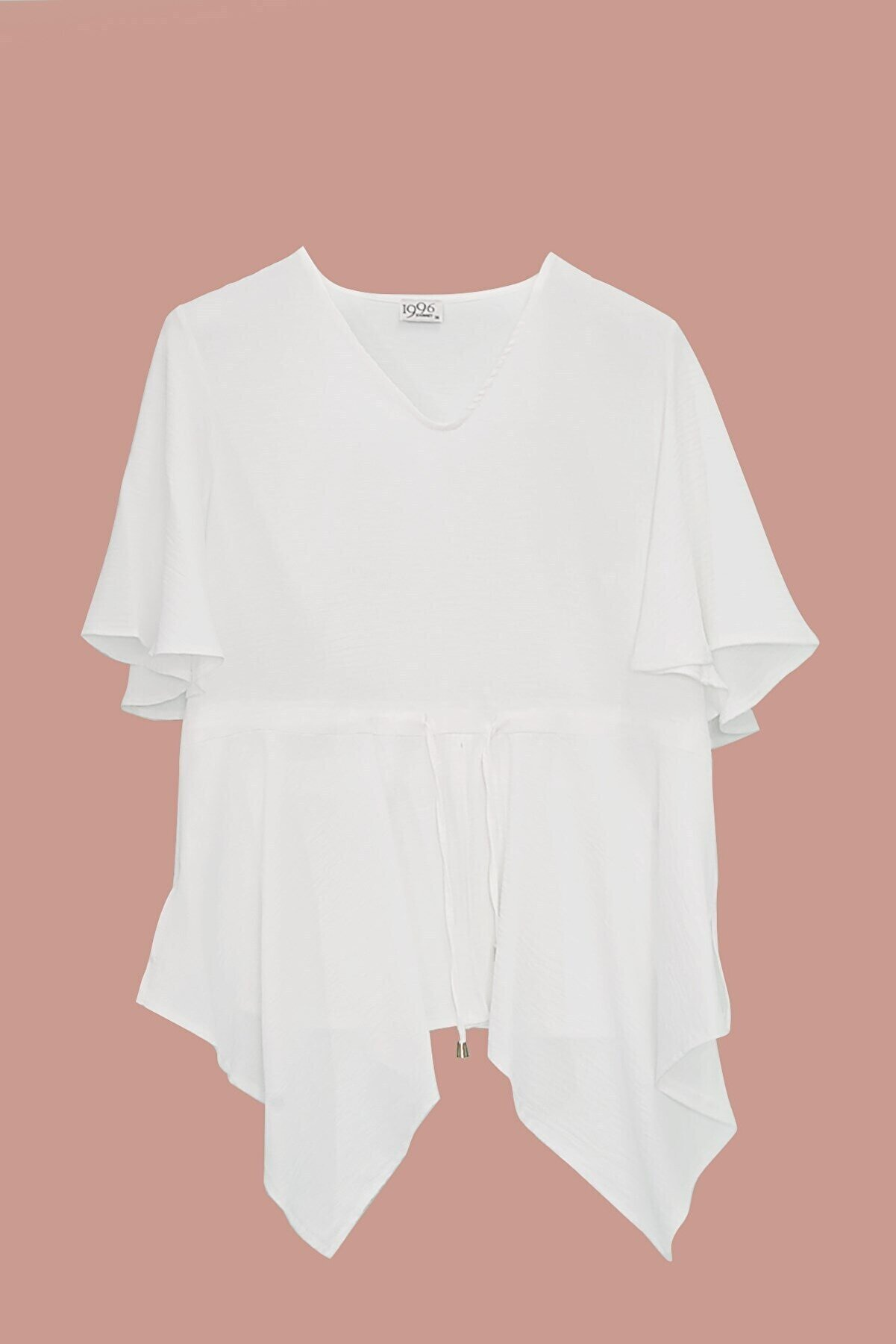 Journey Kadın Beyaz Bluz