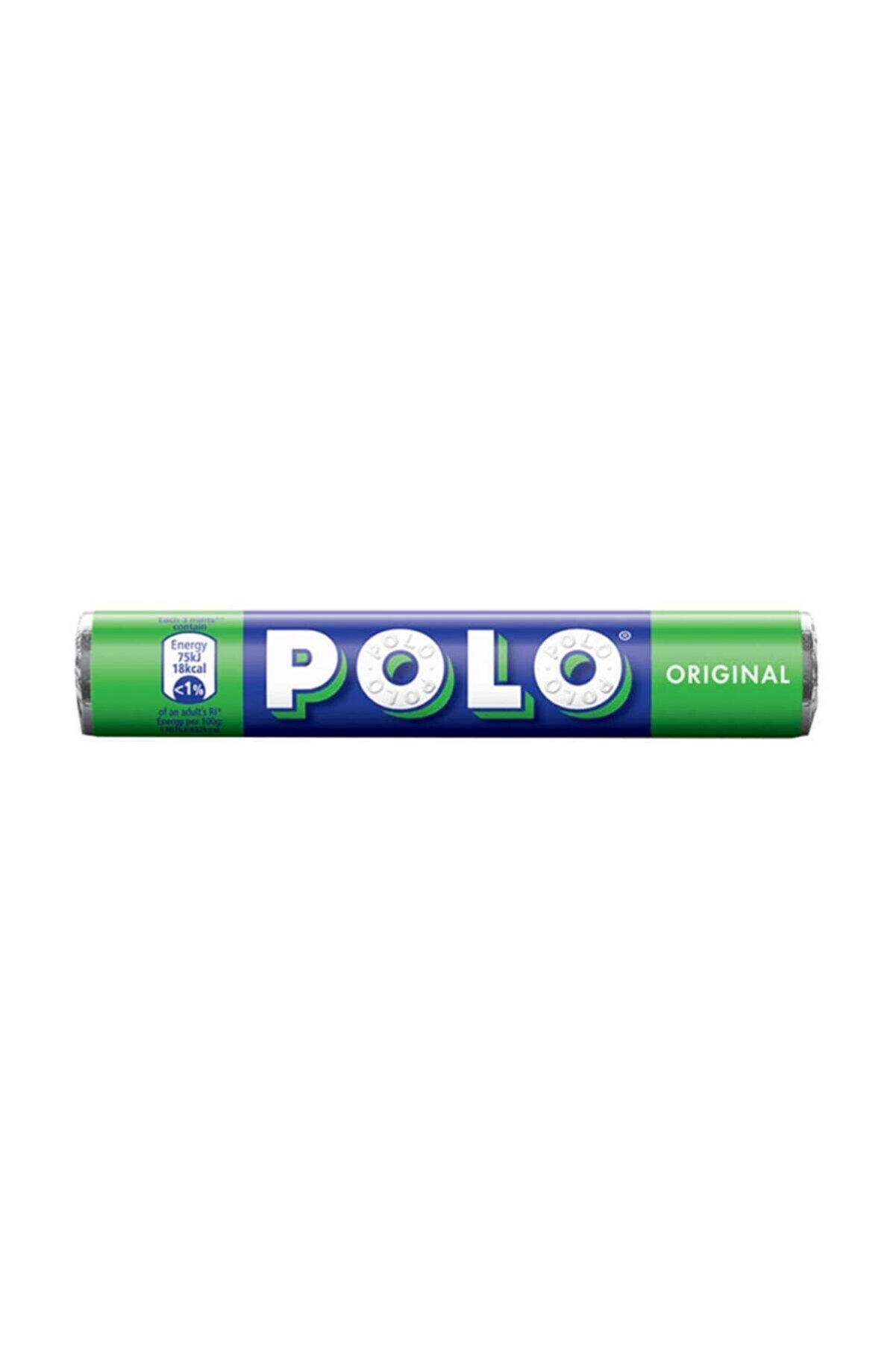 Nestle Polo Orjinal Delikli Naneli Şeker 33,4 gr