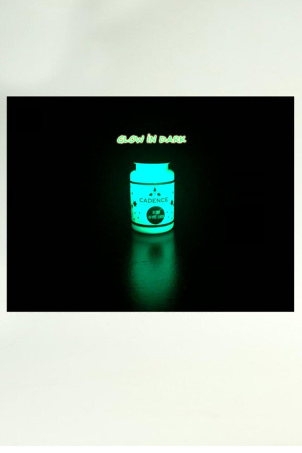 Cadence Boya Karanlıkta Parlayan Hayalet Boya(glow In Dark-50ml. Mavi