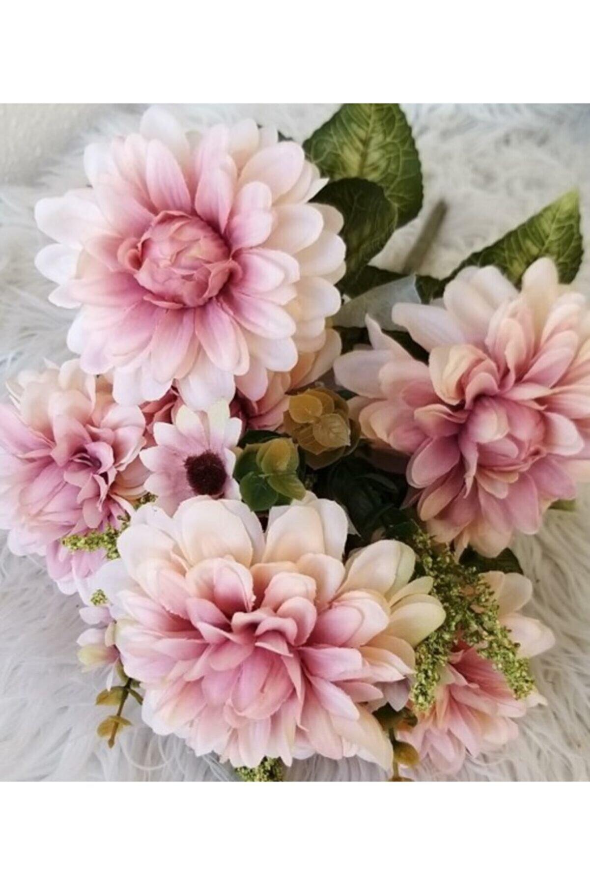 lolipophobi Yapay Kasımpatı Çiçeği - 7 Li Kasımpatı Buketi