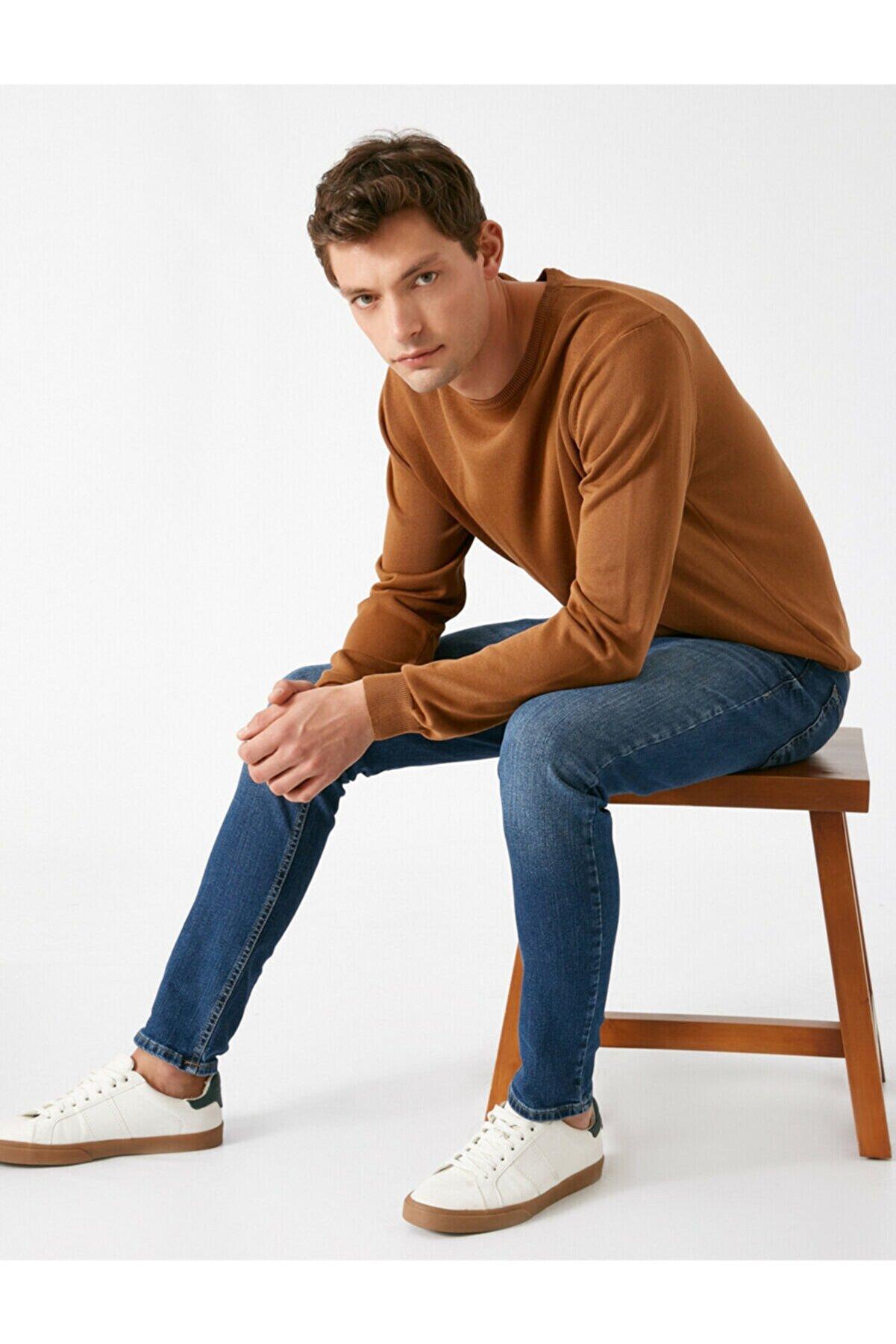 Koton Erkek Lacivert Super Skinny Jean