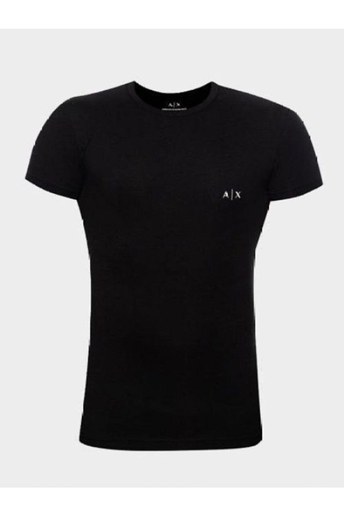 Armani Exchange Erkek Siyah T-shirt