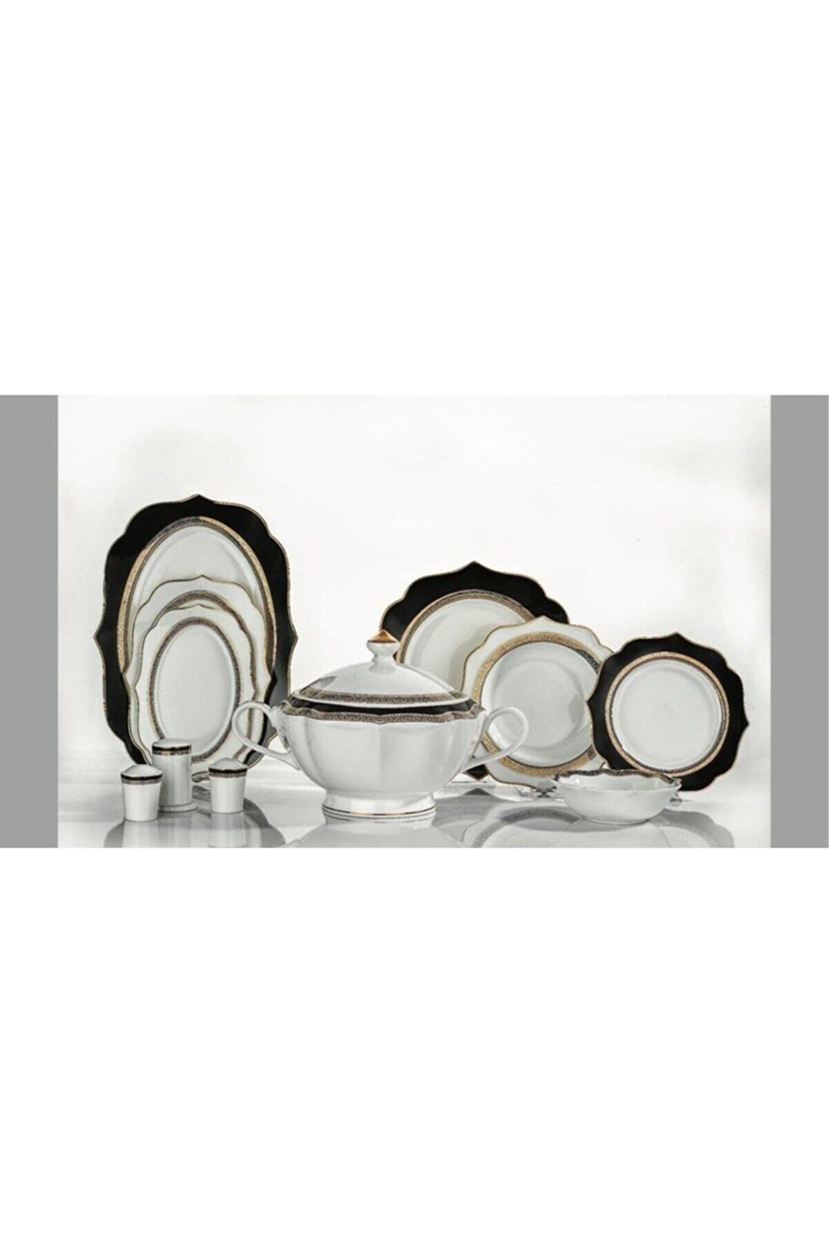 Schafer Launa 60 Pç. 12 Kişilik Porselen Yemek Takımı