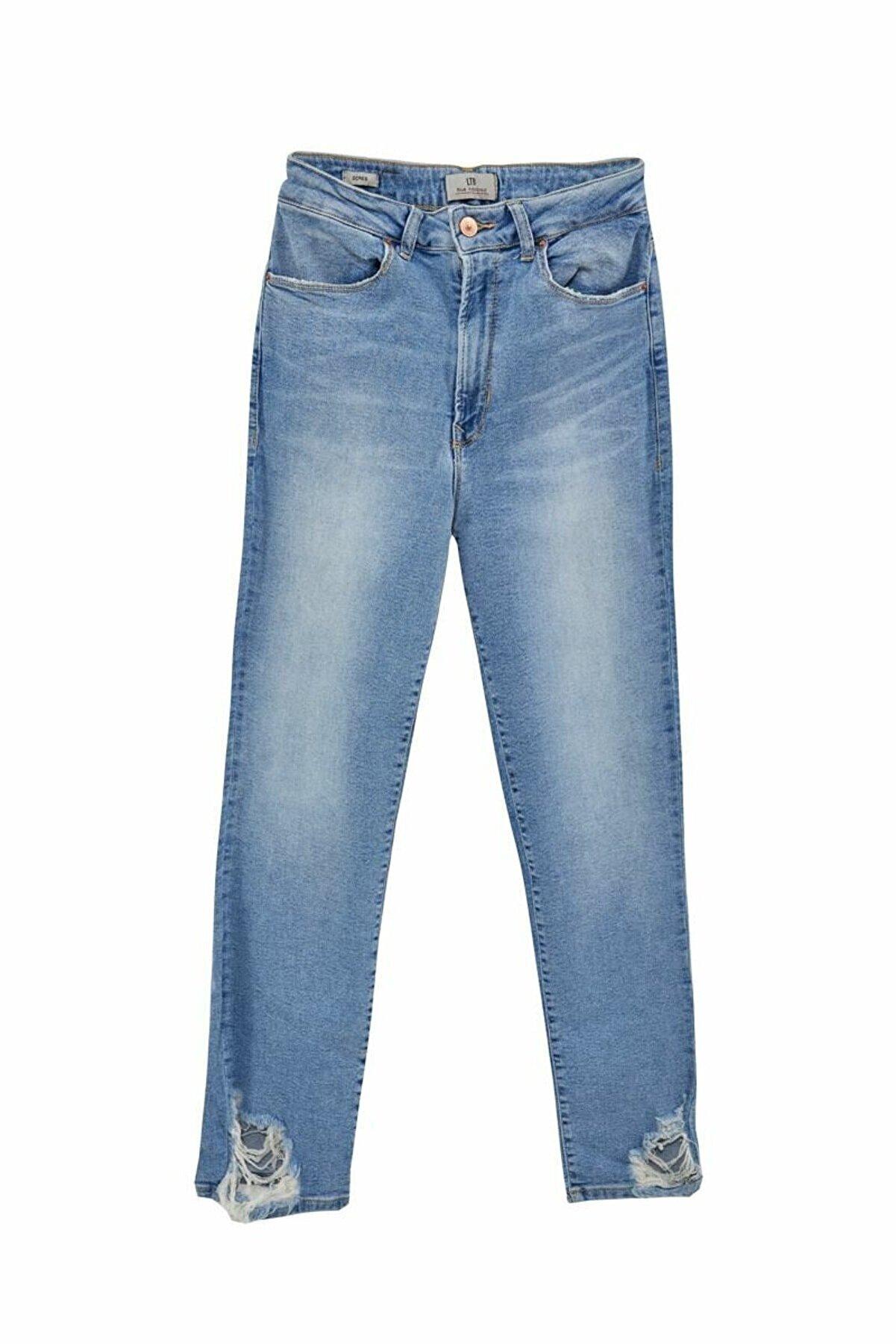 Ltb Dores Maraıs Paça Detaylı Mom Jeans 01009513941472653001