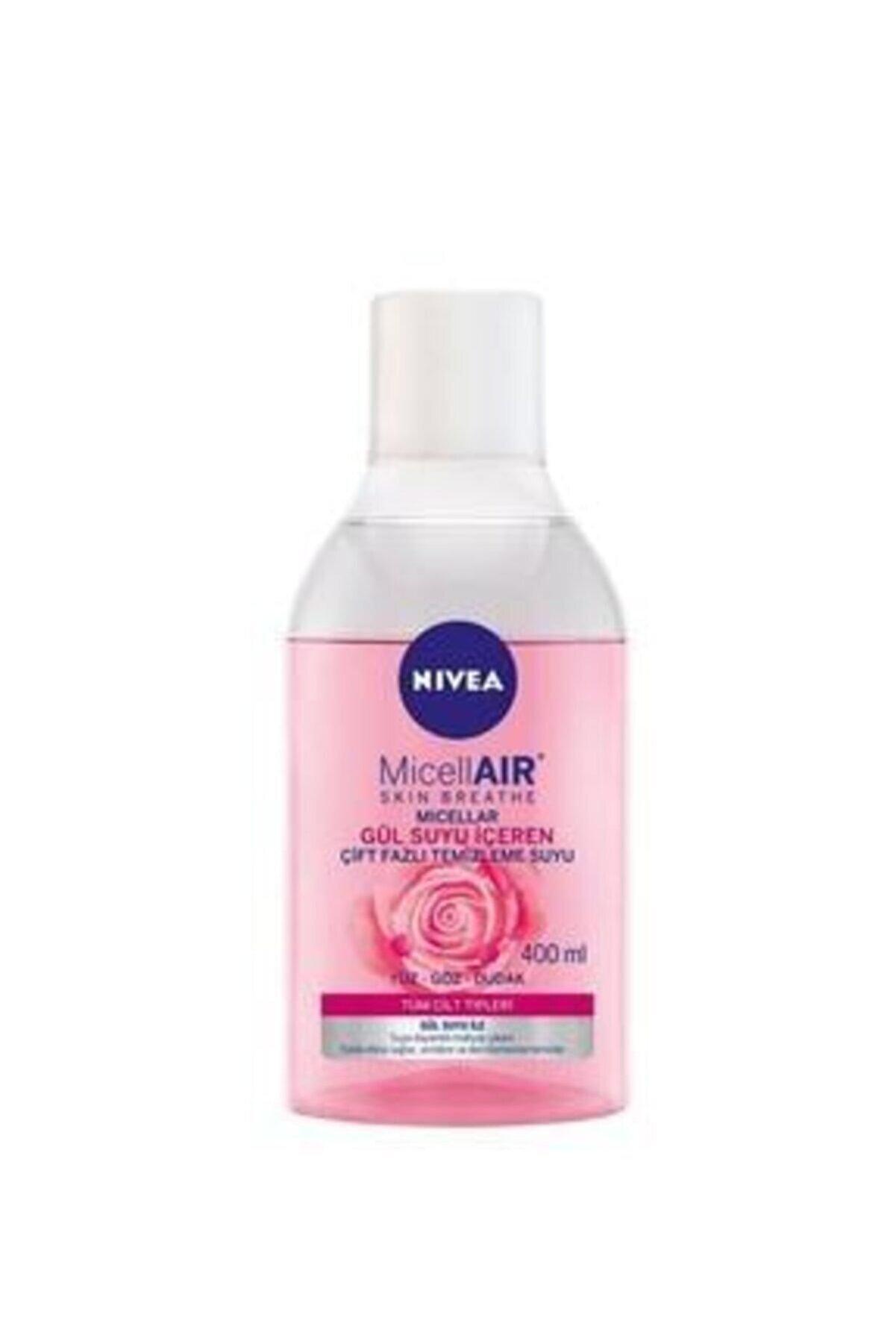 Nivea Rose Çift Fazli Makyaj Temizleme Suyu