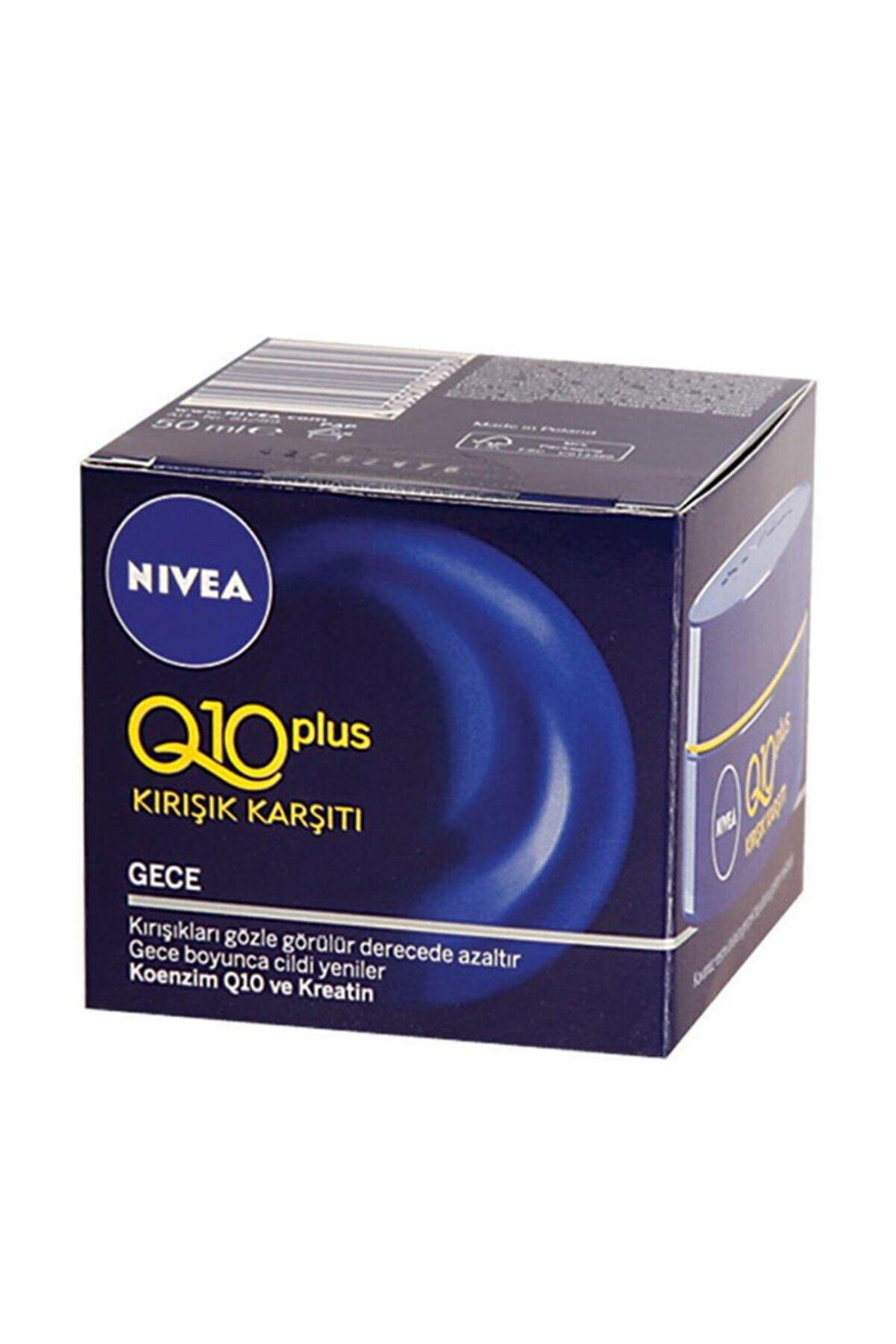 Nivea Q10 Plus Kırışık Karşıtı Gece Kremi 50 ml