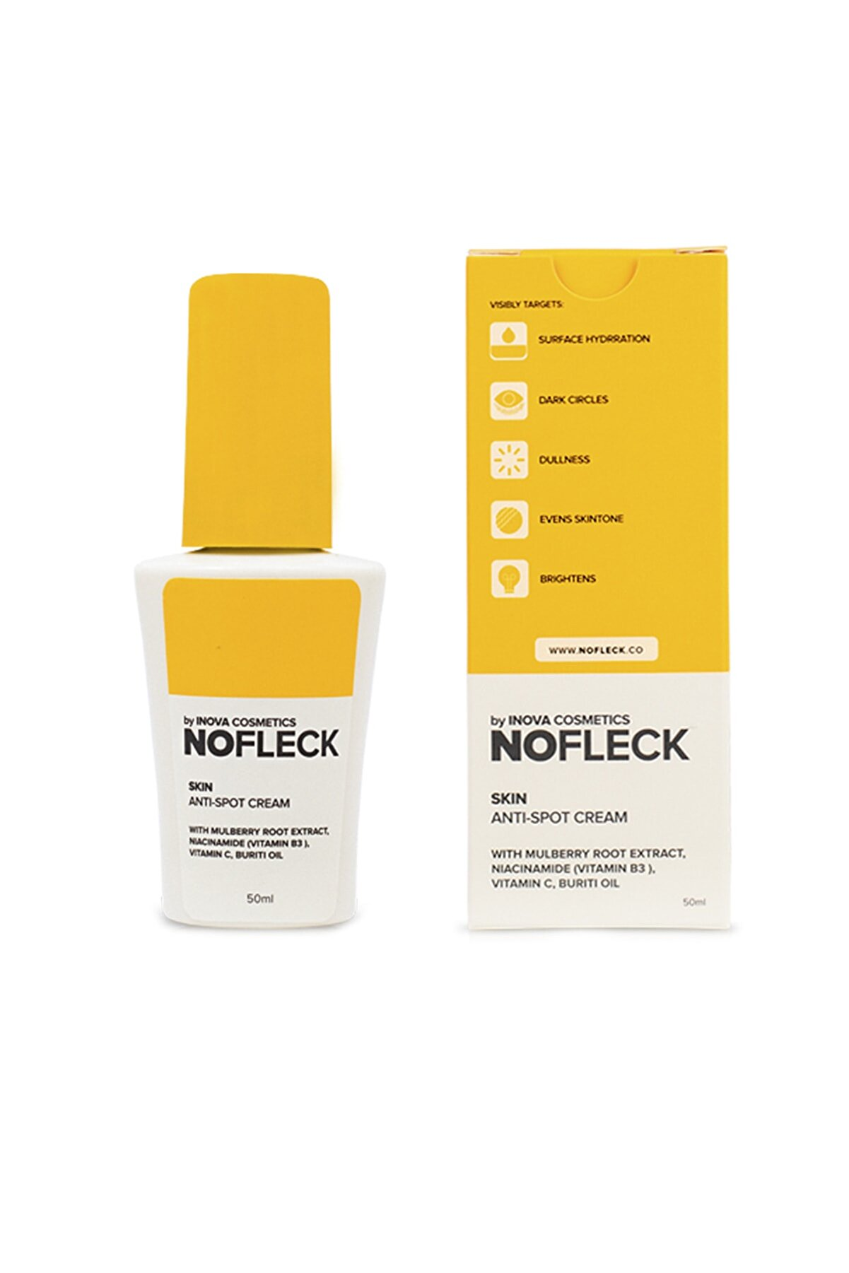 NoFleck by Bubbly Çil Ve Leke Kremi 50 ml