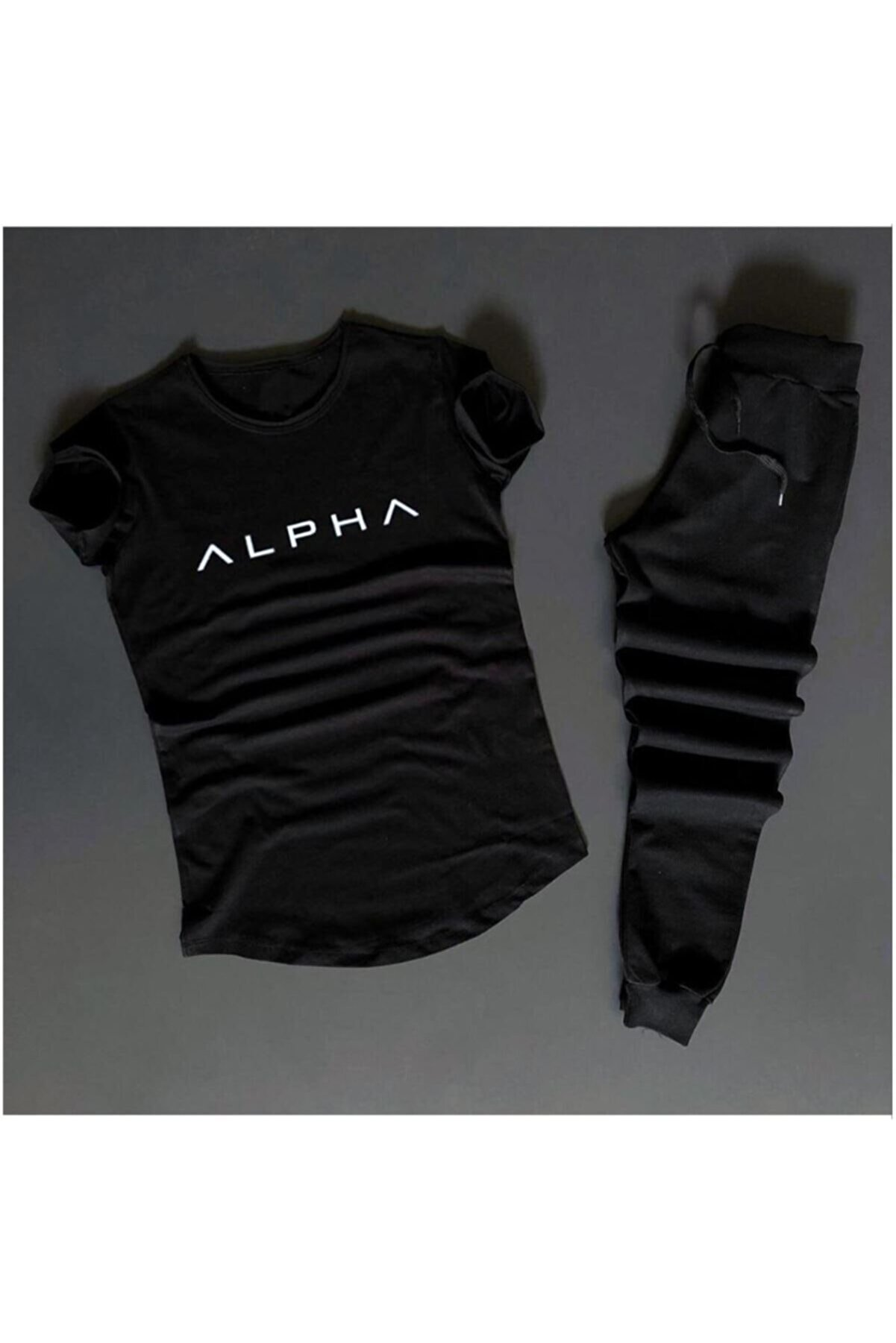 uyguntarz Alpha Siyah Eş Niksiyah Eşofman /d-4