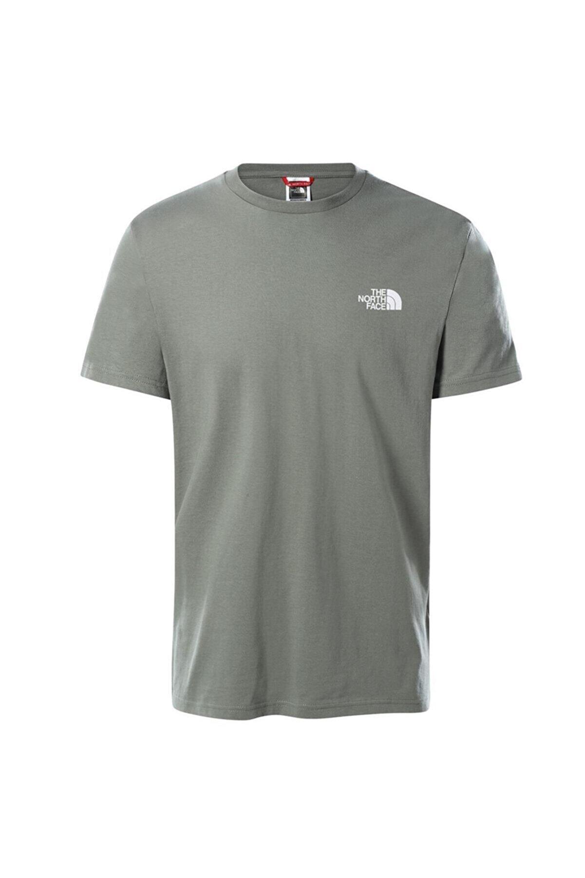 The North Face Erkek Gri Sımple Dome Tişört