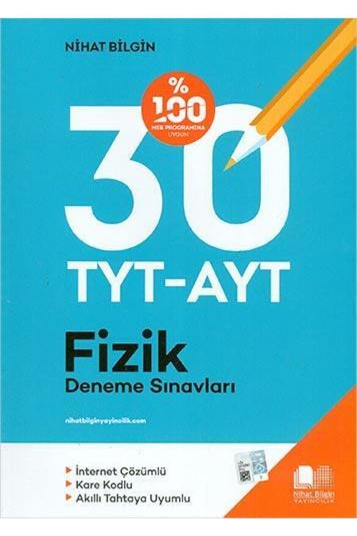 Nihat Bilgin Yayınları Nihat Bilgin Tyt/ayt Fizik 30 Lu Deneme Sınavı