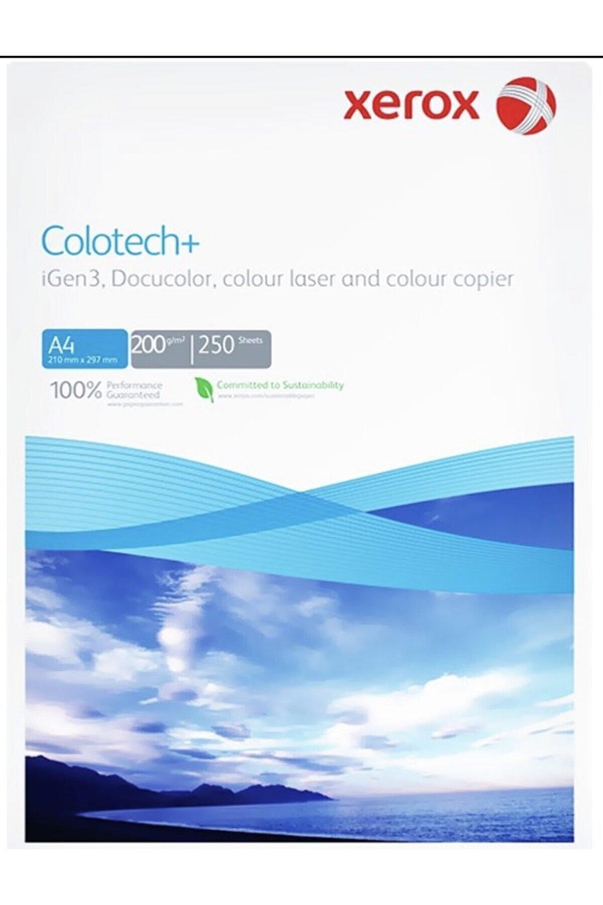 Xerox Fotokopi Kağıdı Gramajlı Laser Copy Inkjet Colotech 250 Li A4 200gr Beyaz 1 Adet