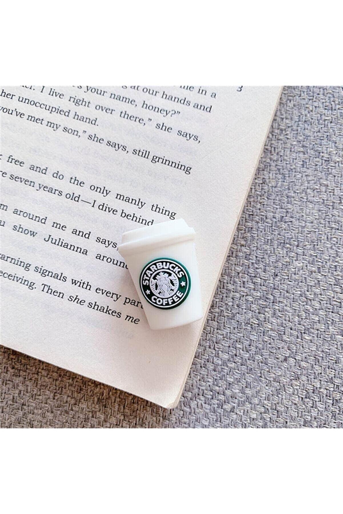 MY MÜRDÜM Sevimli Silikon Kablo Koruyucu Starbucks Kahve