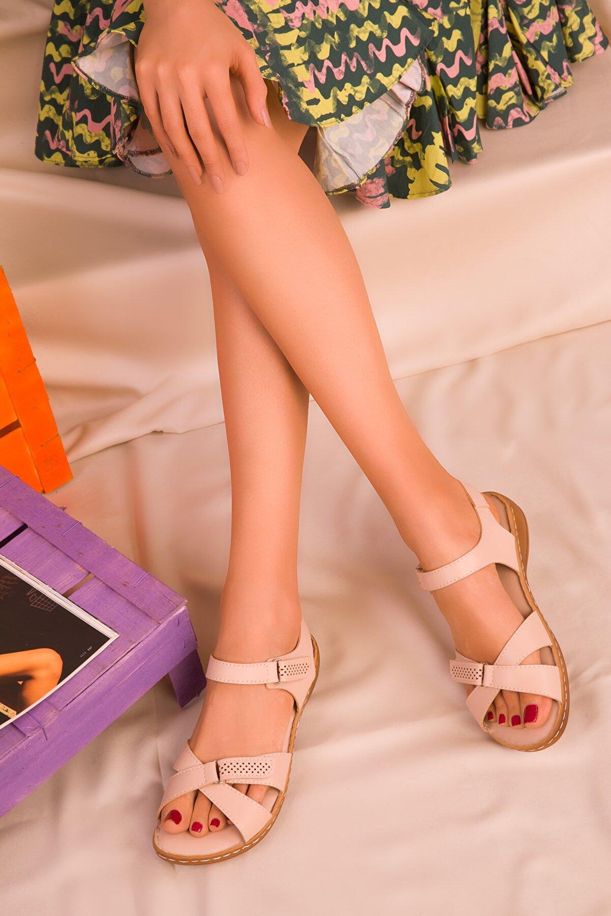 Soho Exclusive Ten Kadın Sandalet 15101