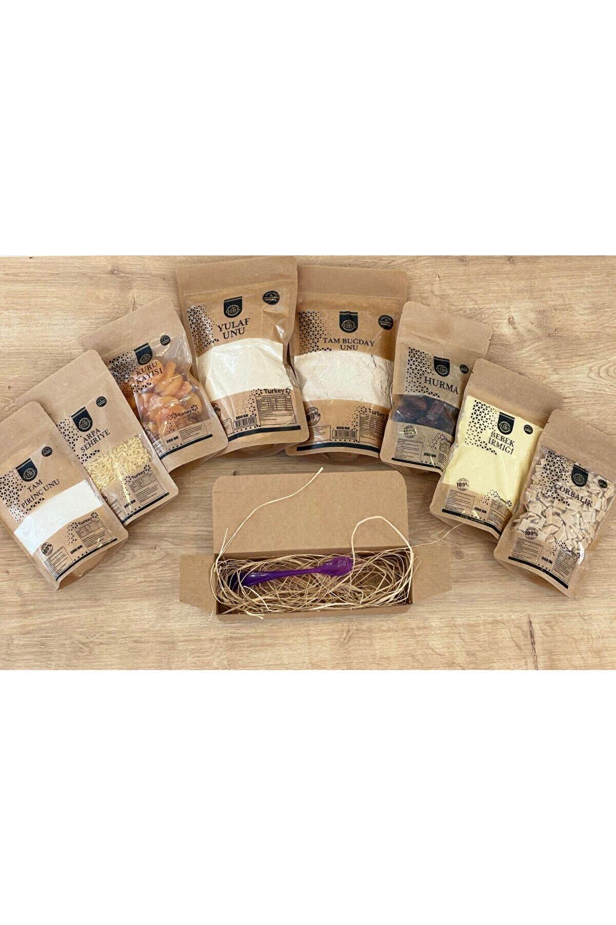 zeybek gurme Ek Gıda Paketi 8 Çeşit Mama Kaşığı Hediyeli
