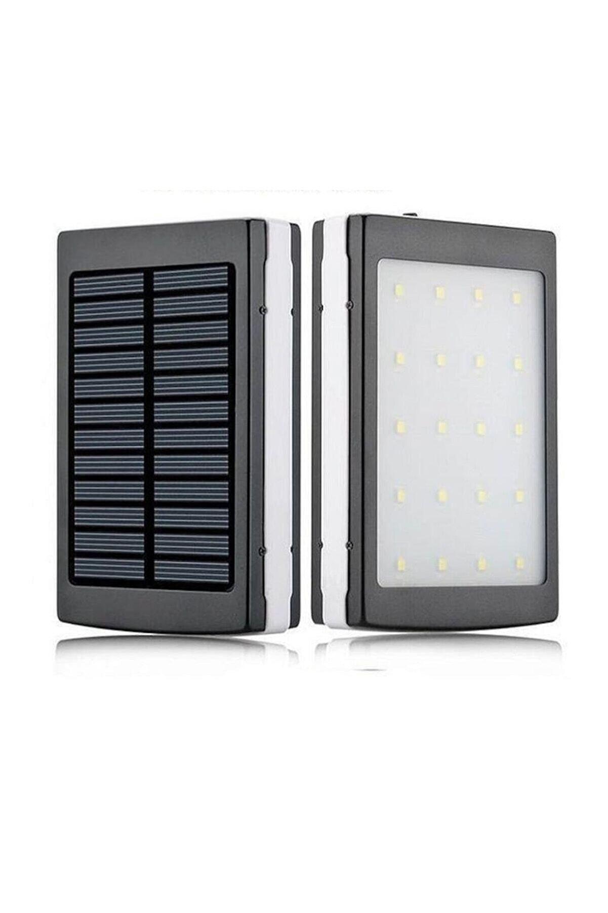 Angel Eye 18000 Mah 20 Ledli Solar Taşınabilir Powerbank Şarj Aleti