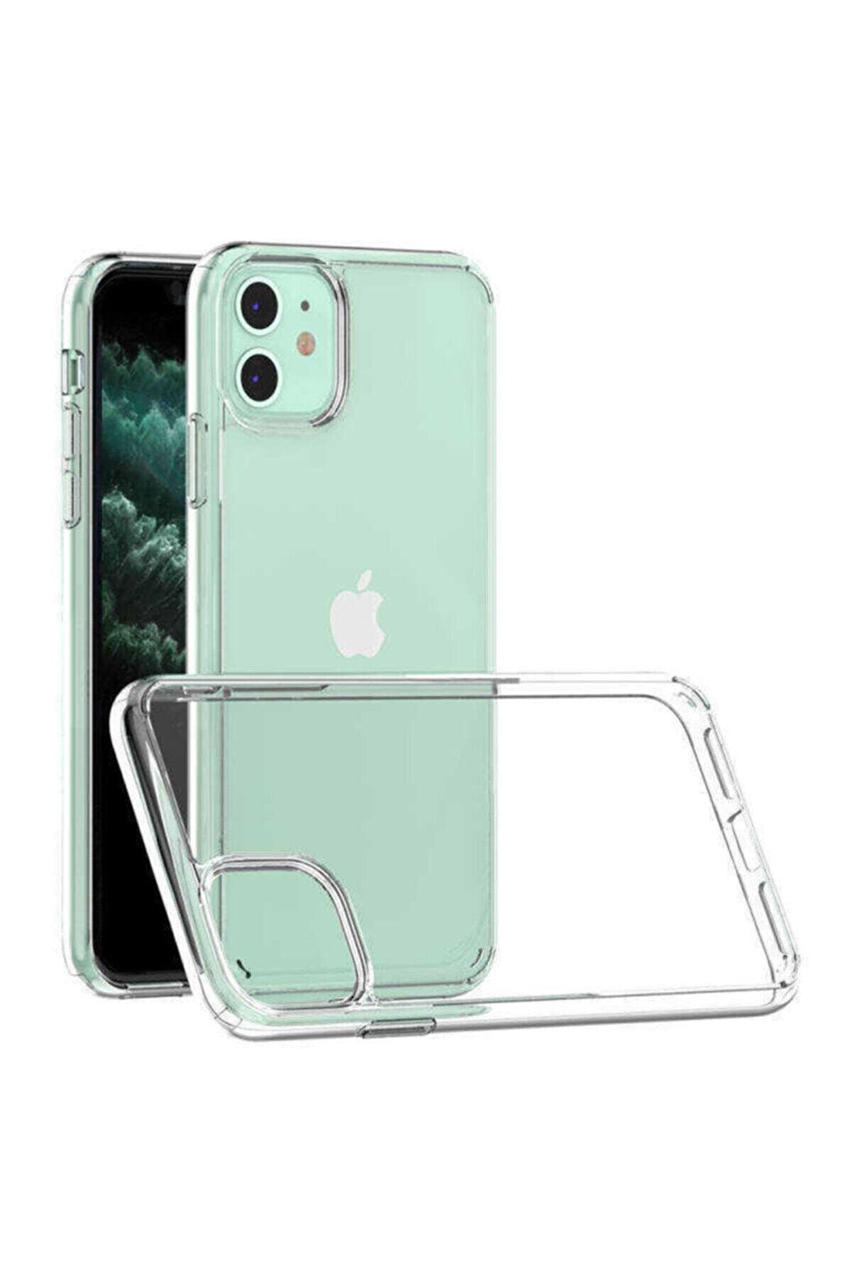 Dijimedia Iphone 11 Uyumlu Darbe Emici Antişok Şeffaf Kılıf