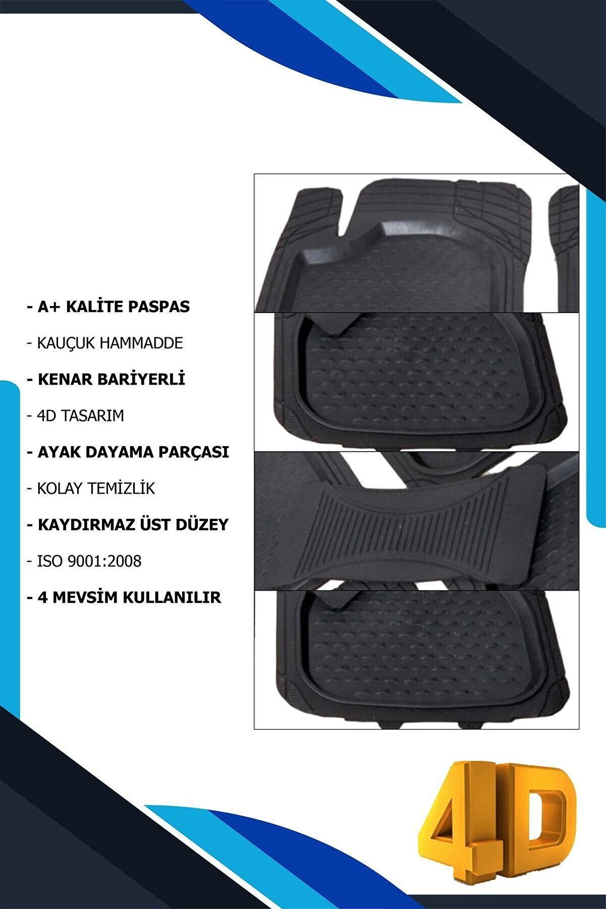 Class Havuzlu Paspas 3d Universal Her Araca Uygun Koku Heydiyeli