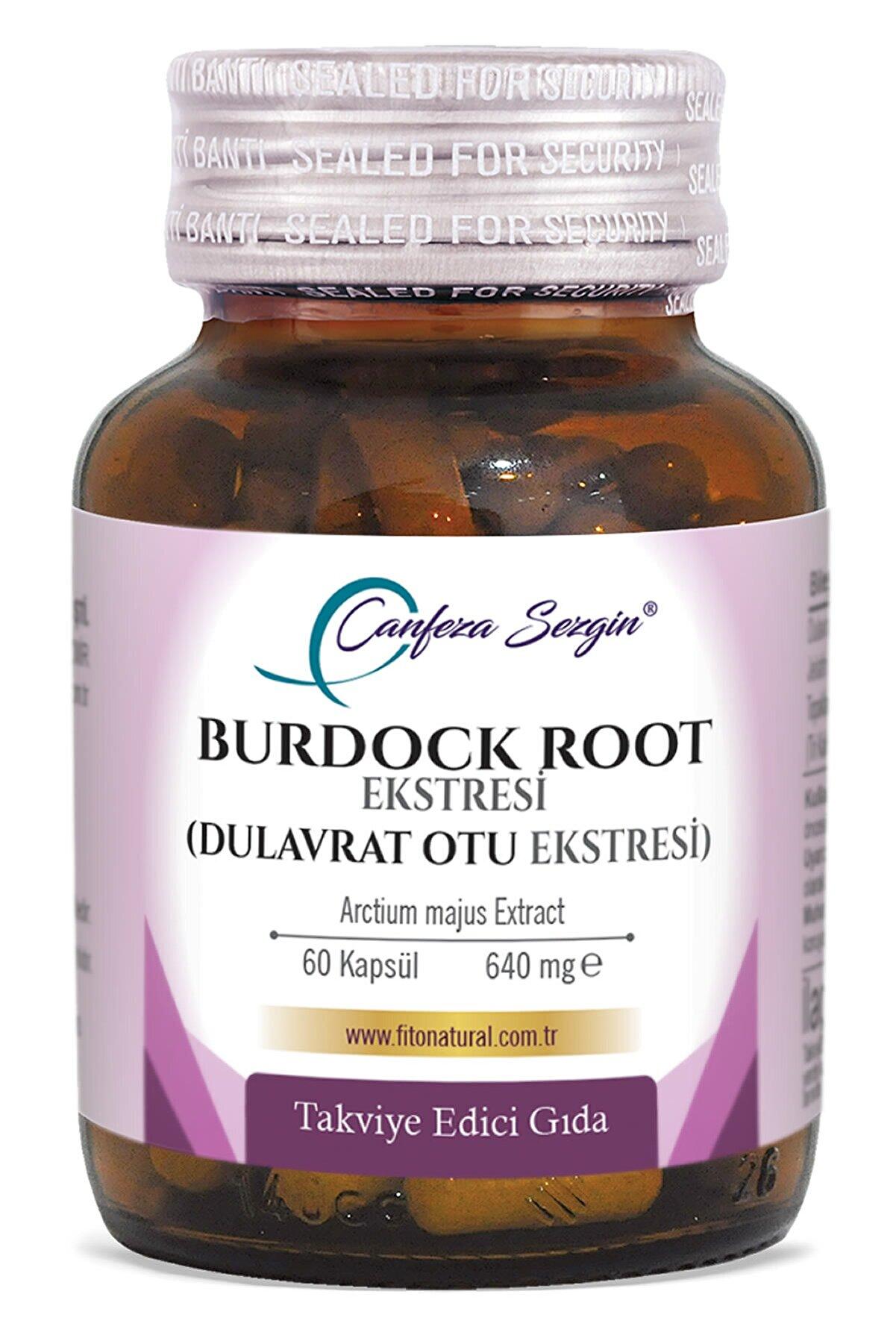 Canfeza Sezgin Burdock Root (dulavrat Otu) Ekstresi