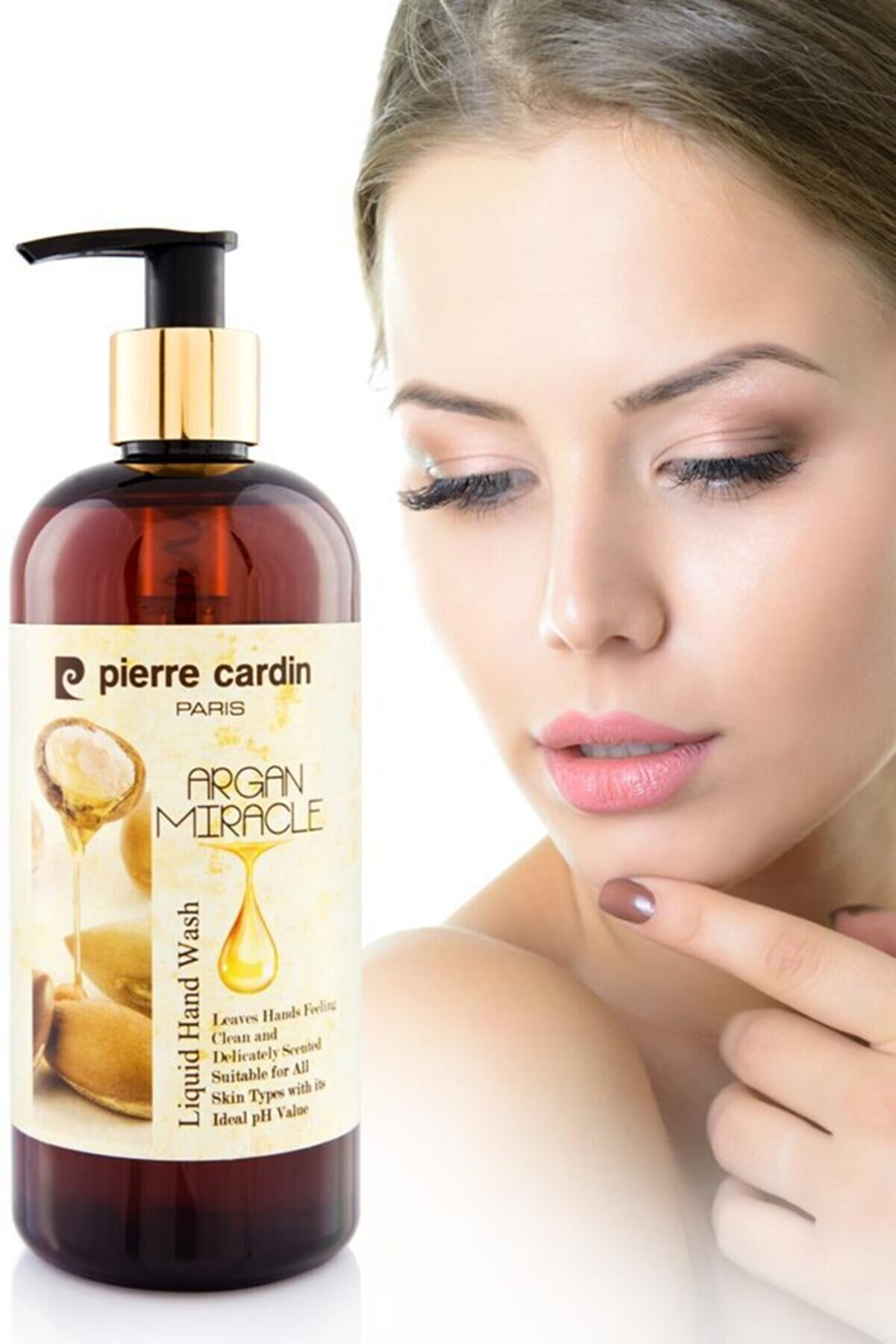 Pierre Cardin Argan Yağı Özlü E Vitaminli Nemlendirici Sıvı El Sabunu - 400 Ml