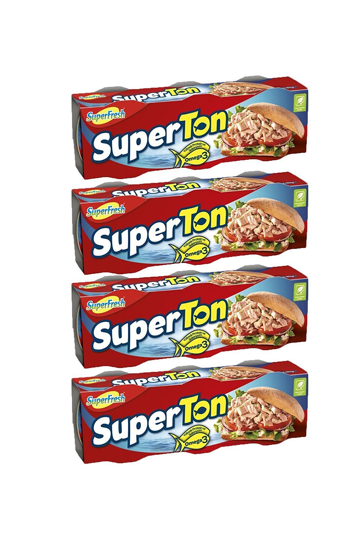 SuperFresh Superton Ton Balığı 75 Gr X 12 Adet