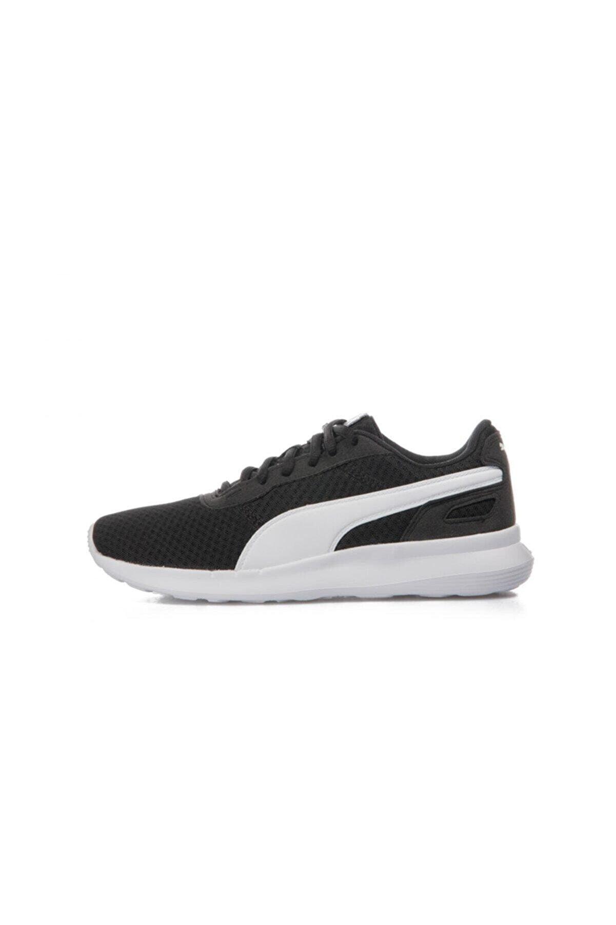 Puma St Activate Jr Siyah Beyaz Unisex Çocuk Sneaker Ayakkabı 100415214