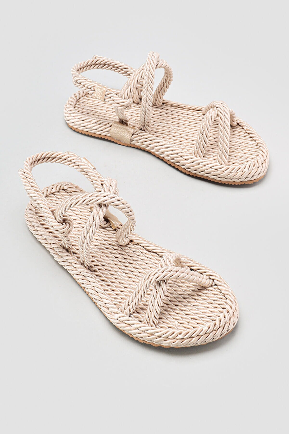 Limoya Pauletta Ten Halat Detaylı Sandalet
