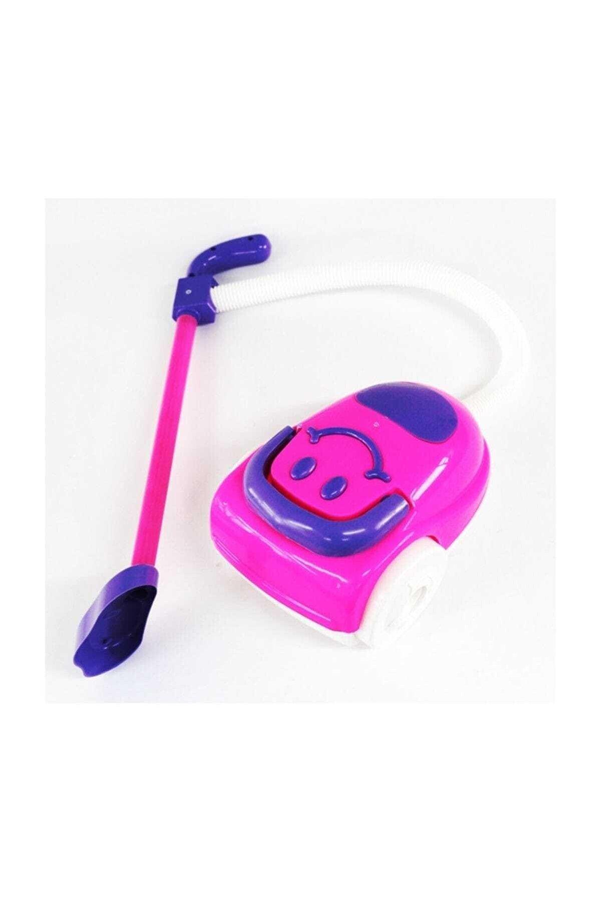 King Toys Gülen Eğlenceli Mutlu Oyuncak Süpürge Mor Ve Pembe Renk