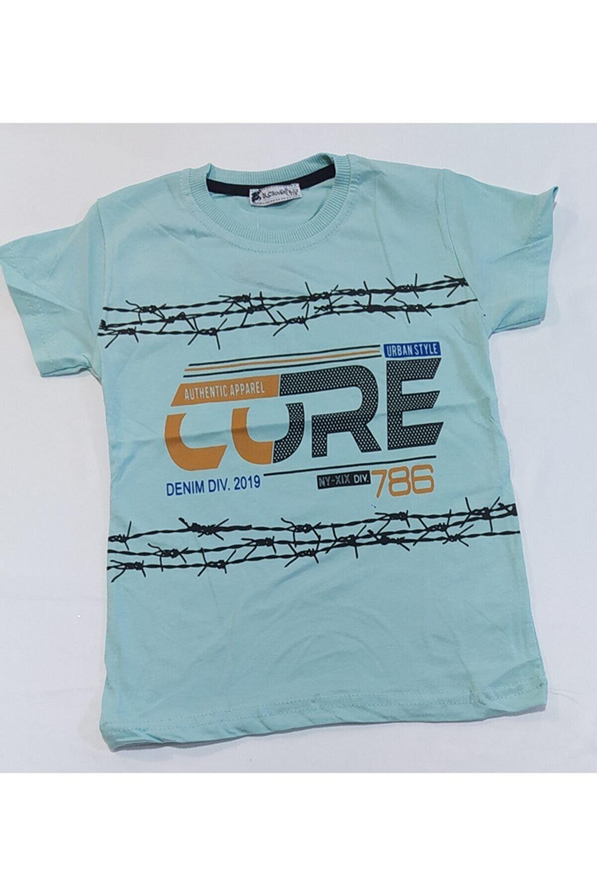 olc kids Erkek Çocuk Baskılı T-shirt