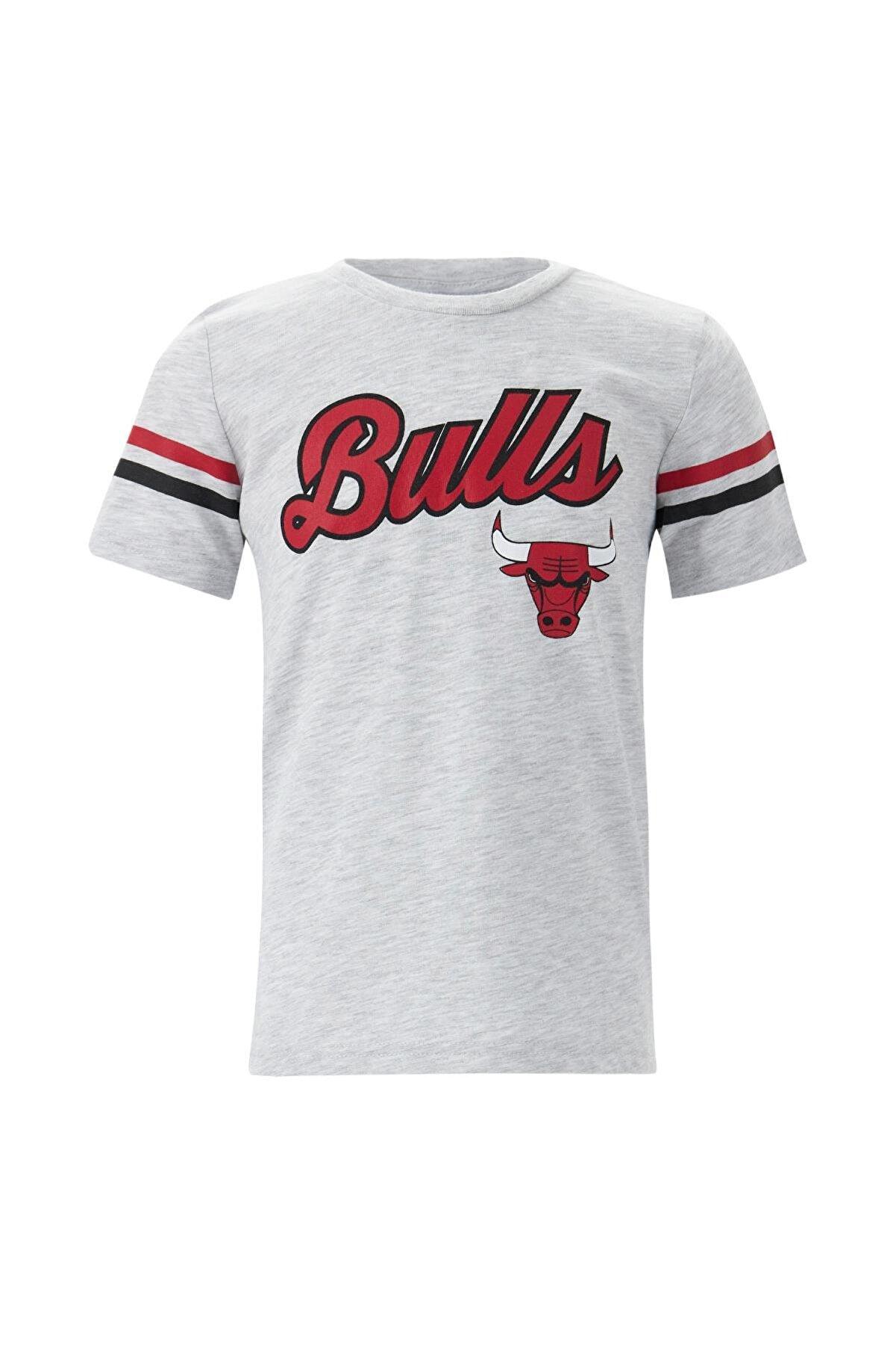 Defacto Erkek Çocuk Chicago Bulls Lisanslı Kısa Kol Tişört