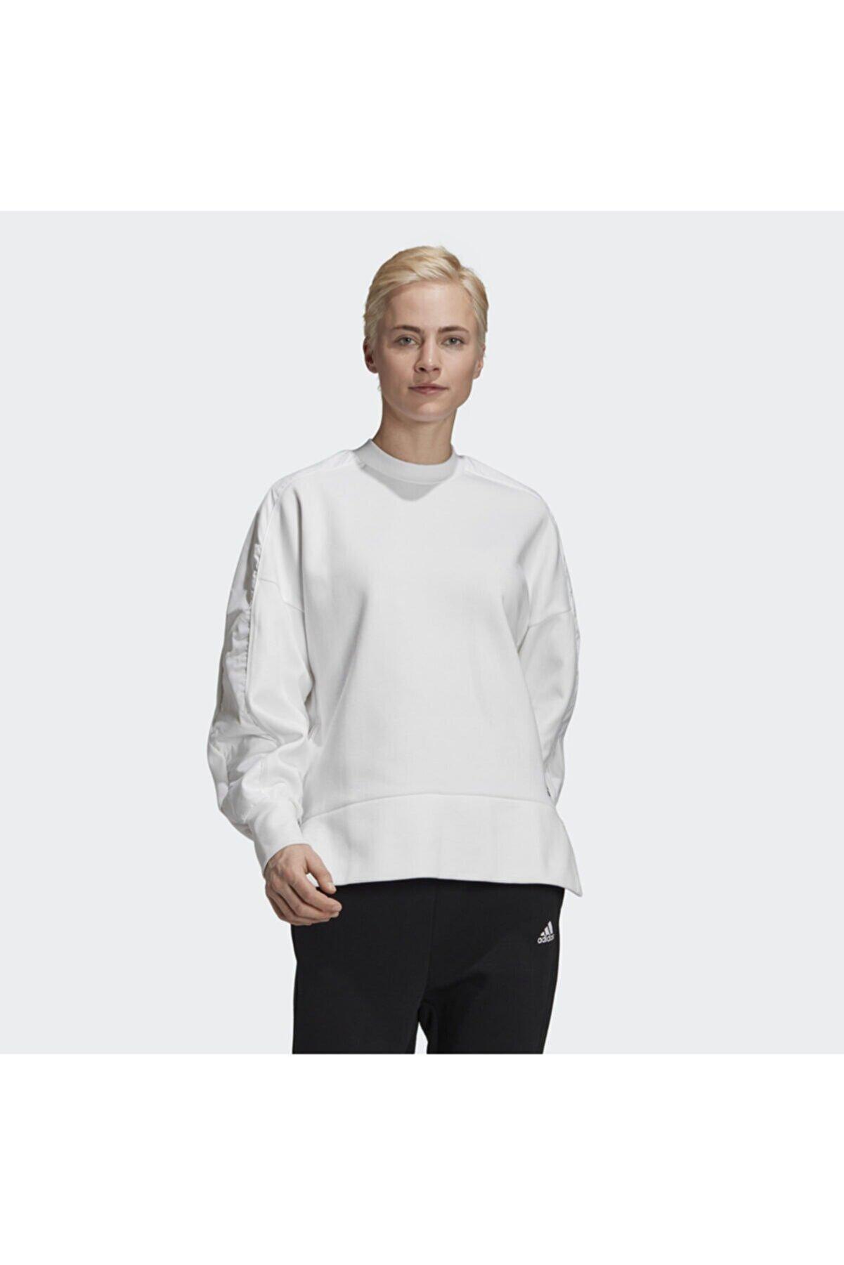 adidas Kadın Günlük Giyim Sweatshirt W St Dkn Sweat Gh4655