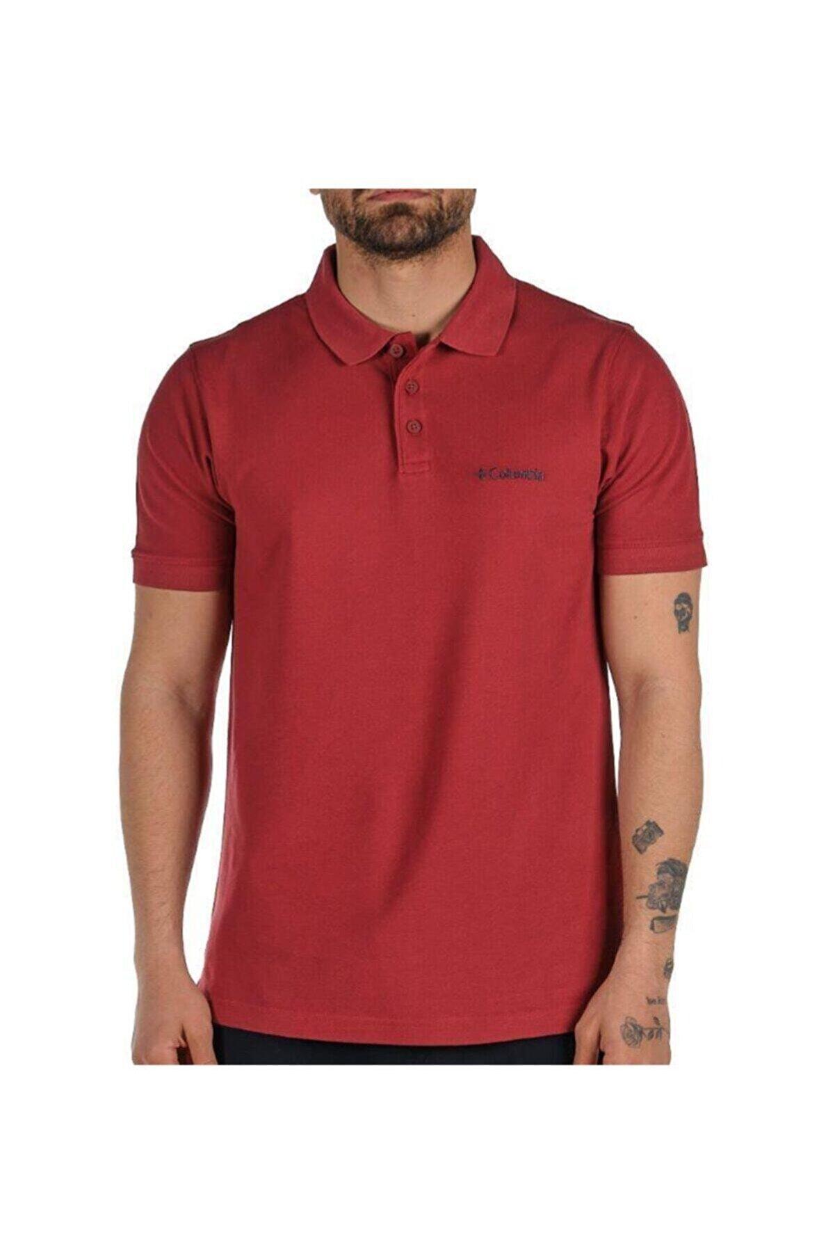 Columbia M Cascade Range Solid II Erkek Polo T-shirt