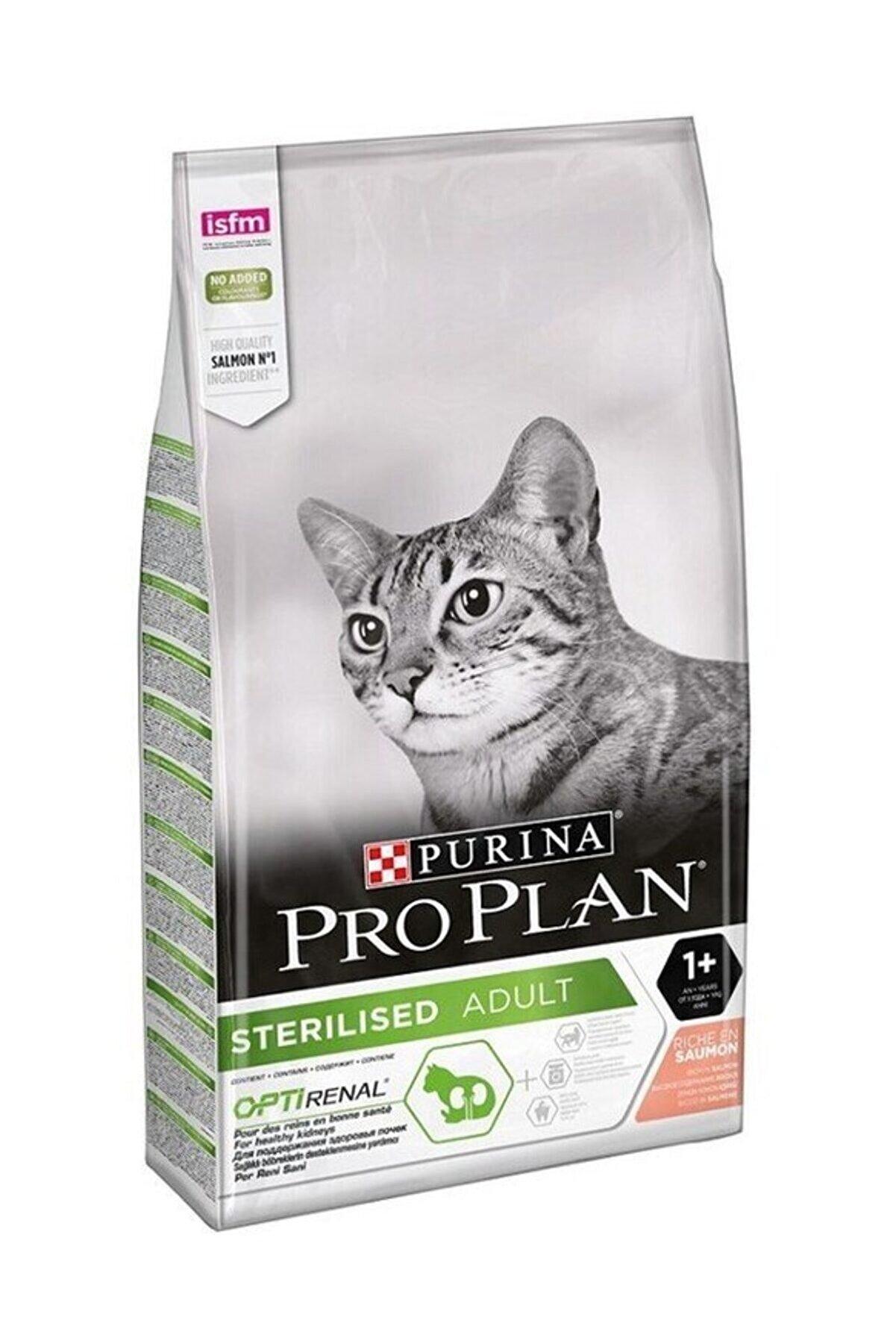 Proplan Kısırlaştırılmış Somonlu Kuru Kedi Maması 3 kg