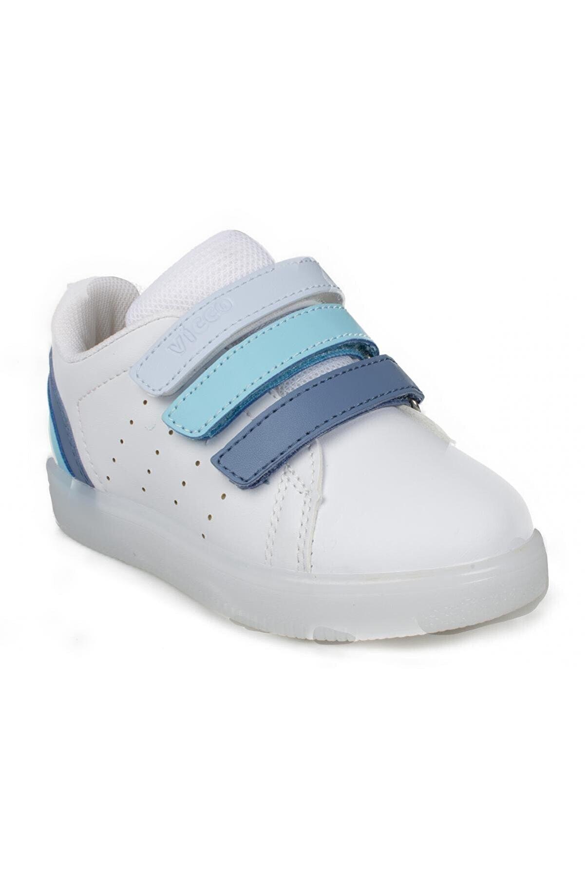 Vicco Çocuk Beyaz Işıklı Ayakkabı 220.b21y212