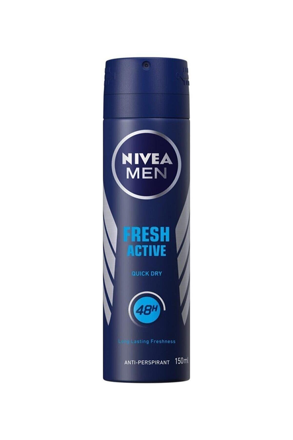 Nivea Deo Sprey Fresh Active Erkek 150 ml