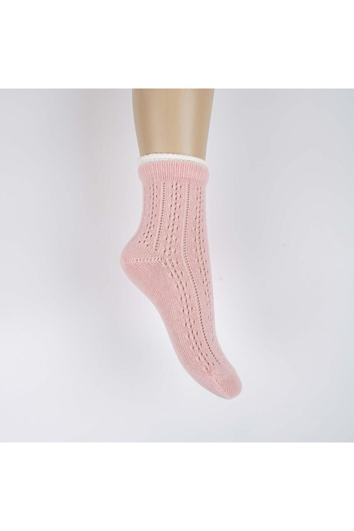 Katamino Toprak Kız File Soket Çorap