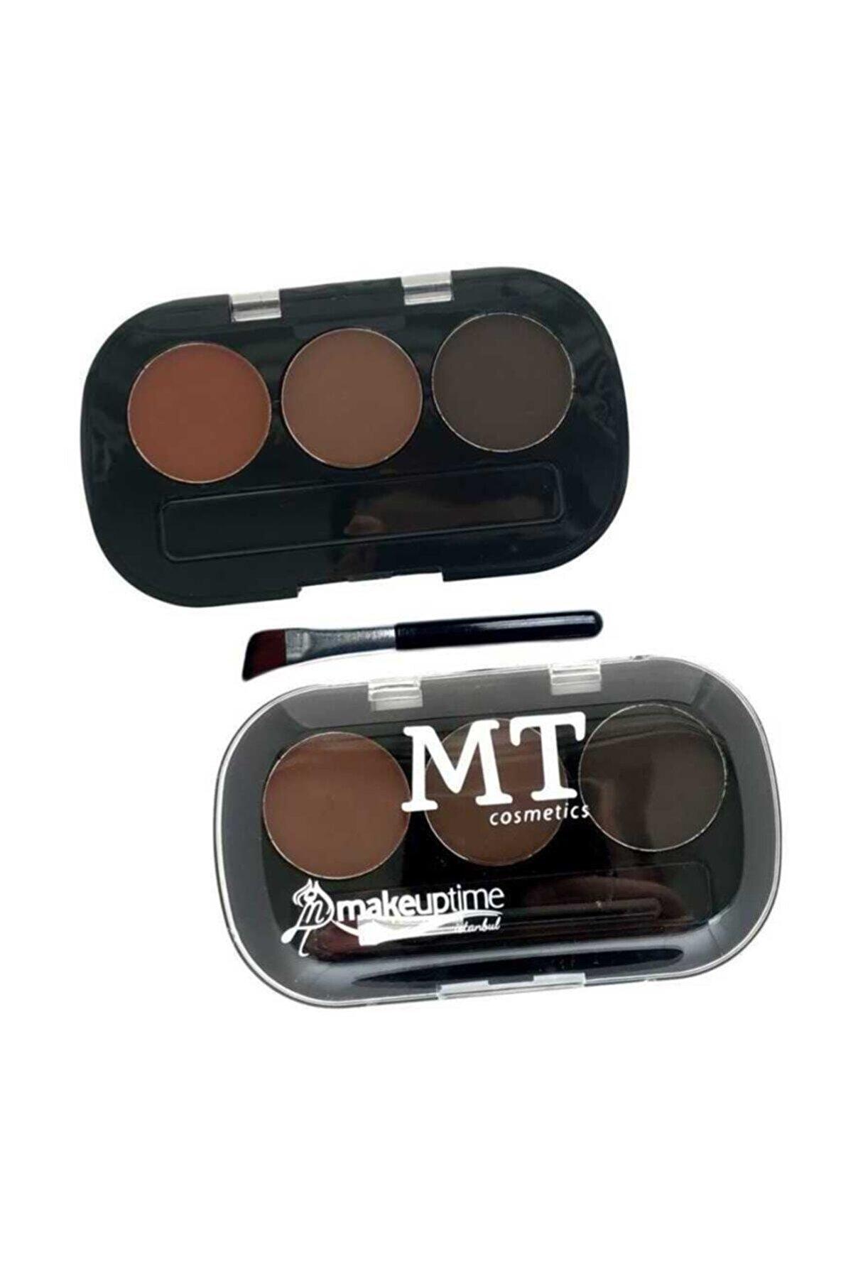 Makeuptime Mt 3'lü Kaş Farı-1