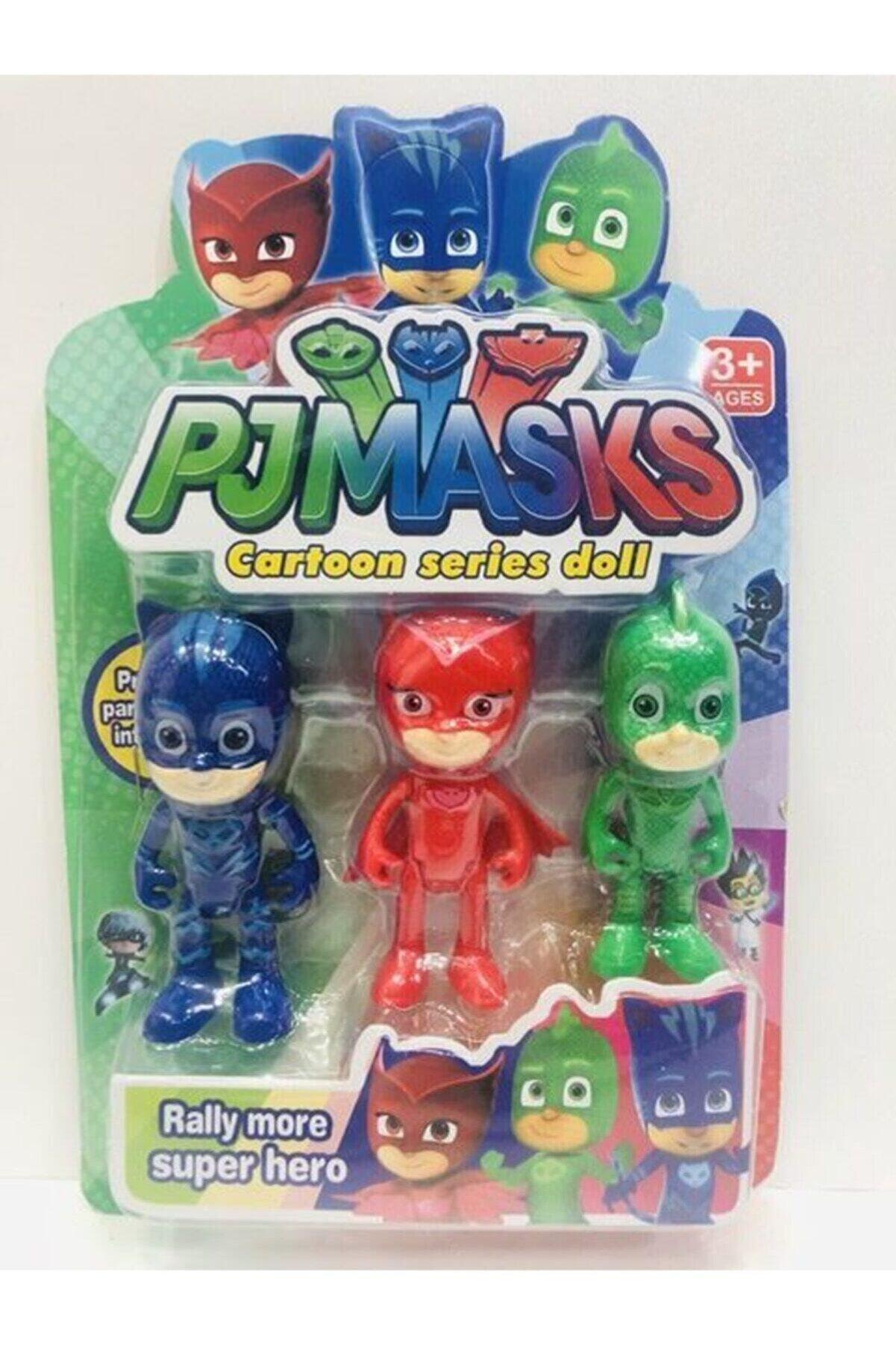 oyuncakchi Pj Maskeliler Pj Masks 3 Lü Oyuncak Set Pija Maskeliler